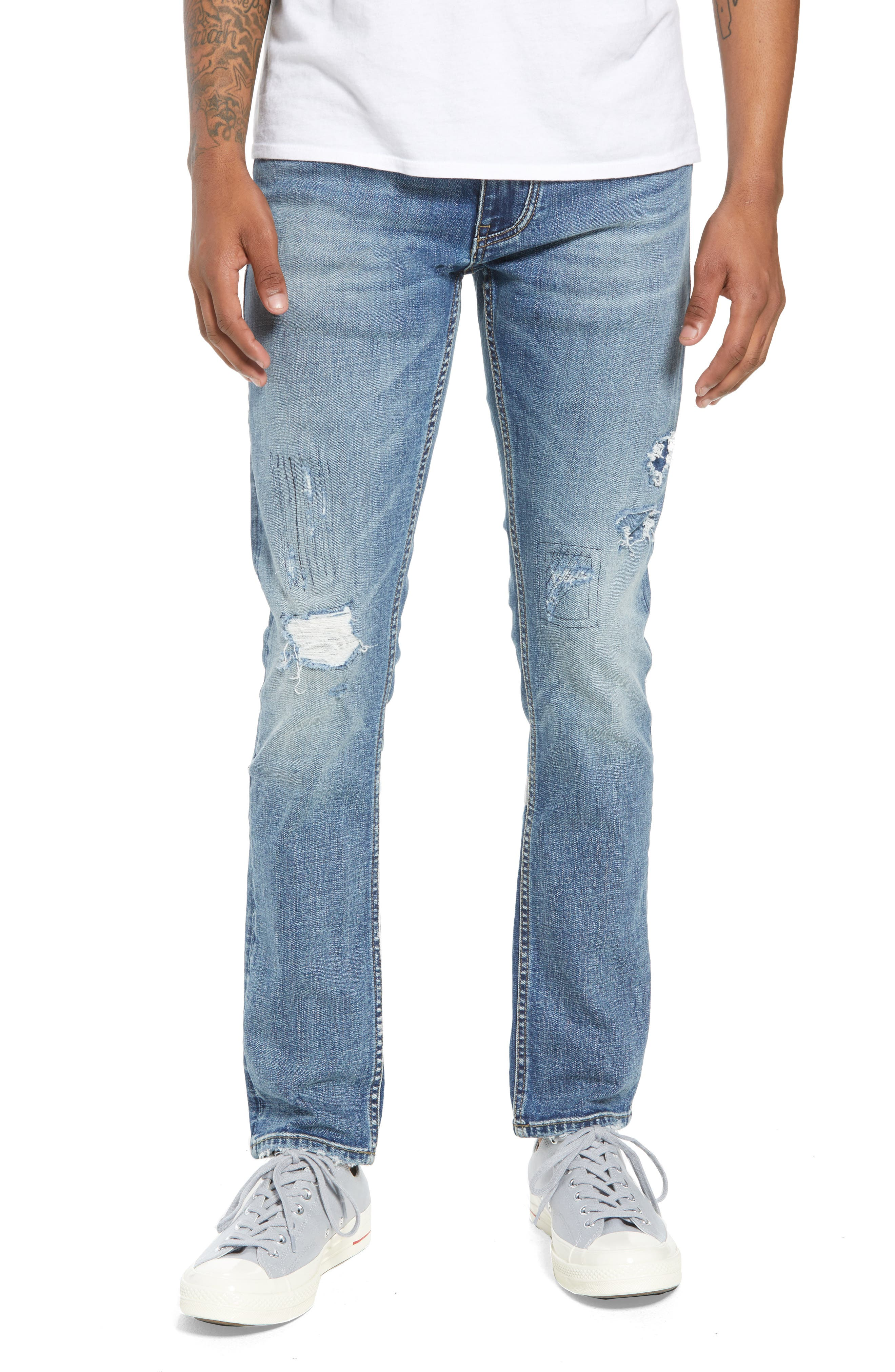Wooster Slim Fit Jeans,                             Main thumbnail 1, color,                             LION NIGHT
