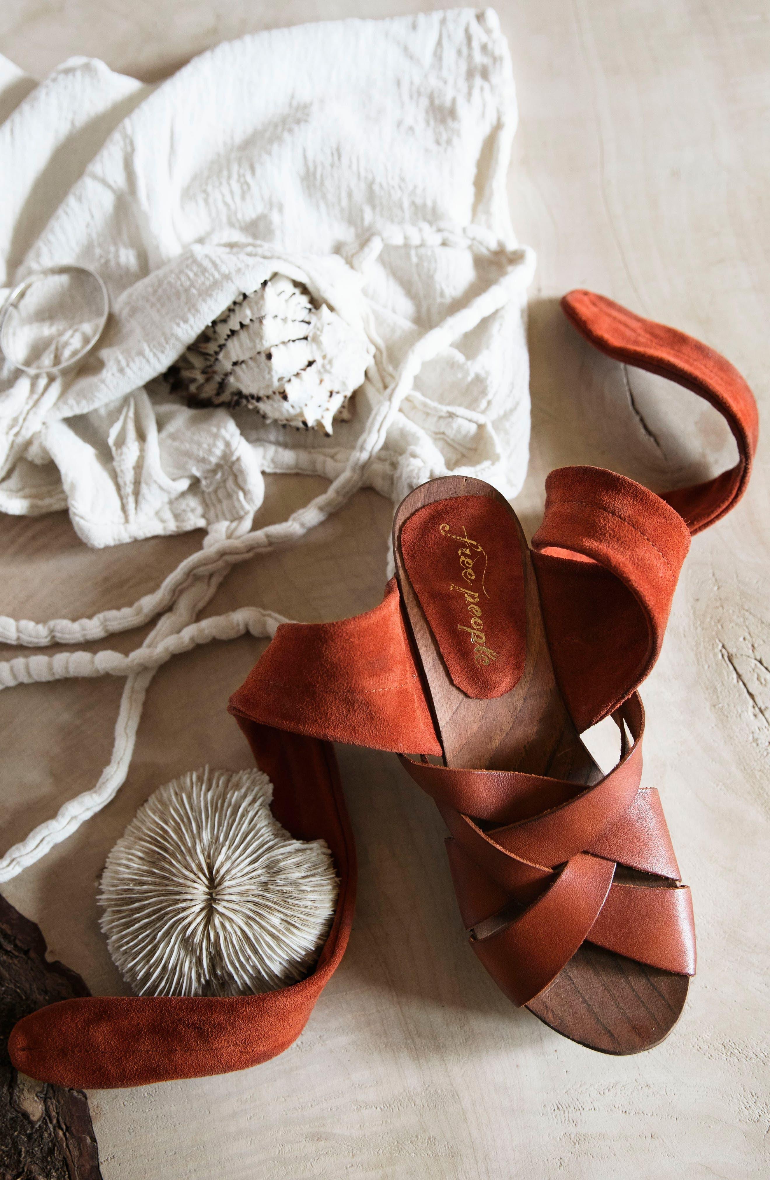 Emmy Ankle Wrap Sandal,                             Alternate thumbnail 7, color,