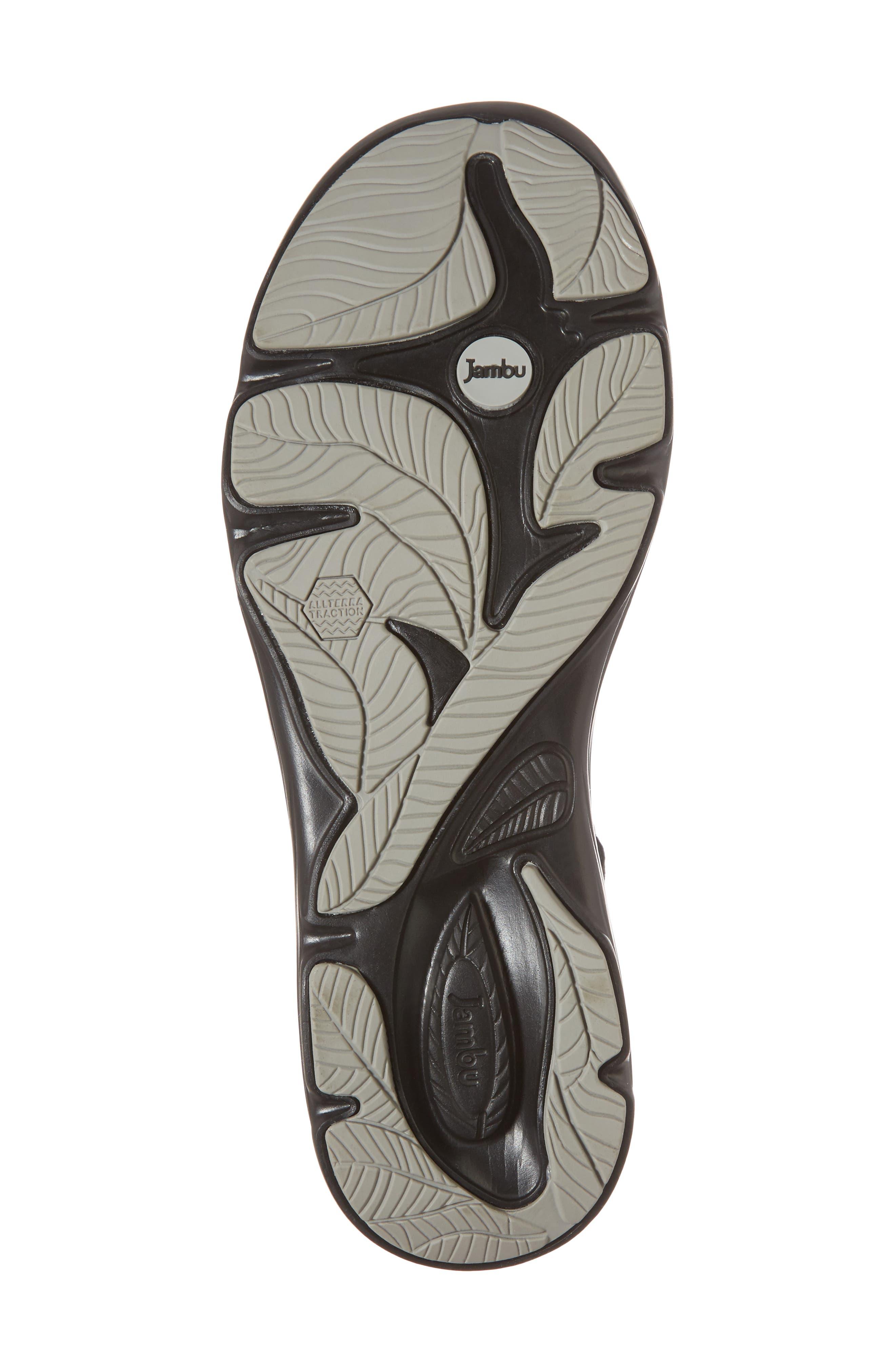 Ginger Wedge Sandal,                             Alternate thumbnail 6, color,                             001