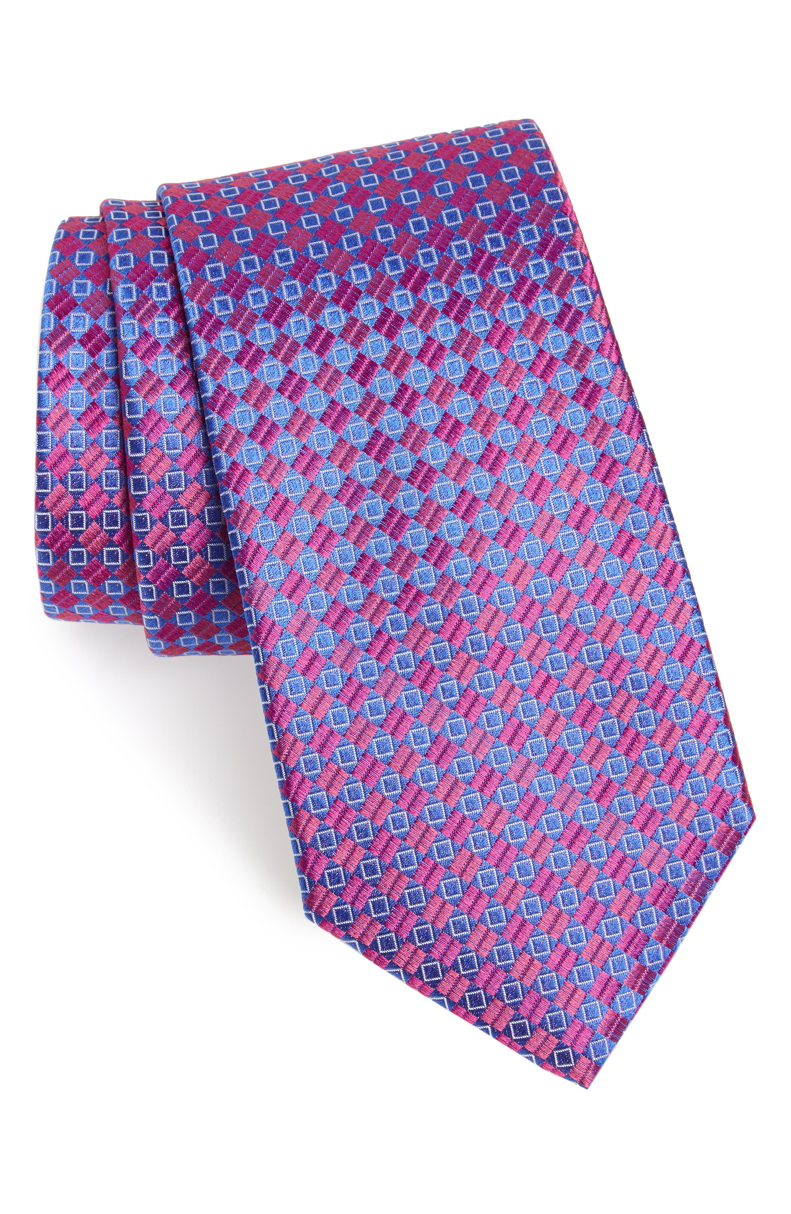 Middletown Geometric Silk Tie,                             Main thumbnail 5, color,