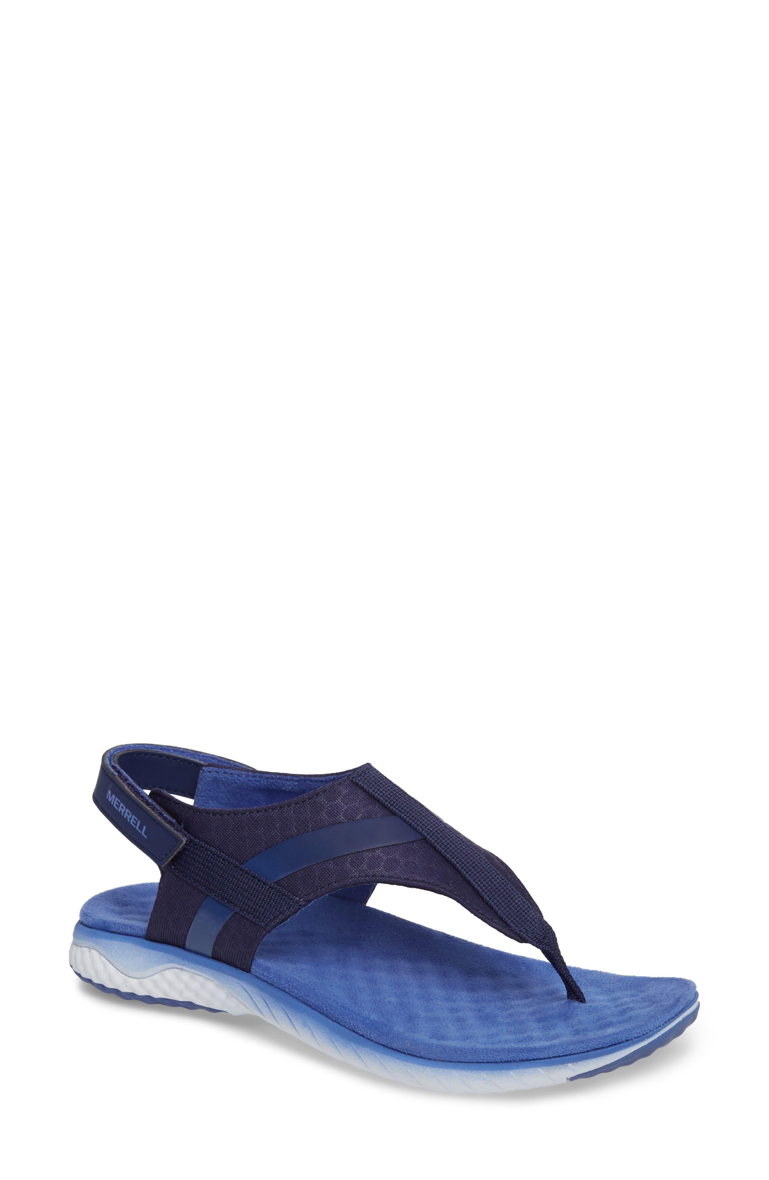1SIX8 Linna Slide Air Cushion+ Sandal,                             Main thumbnail 3, color,