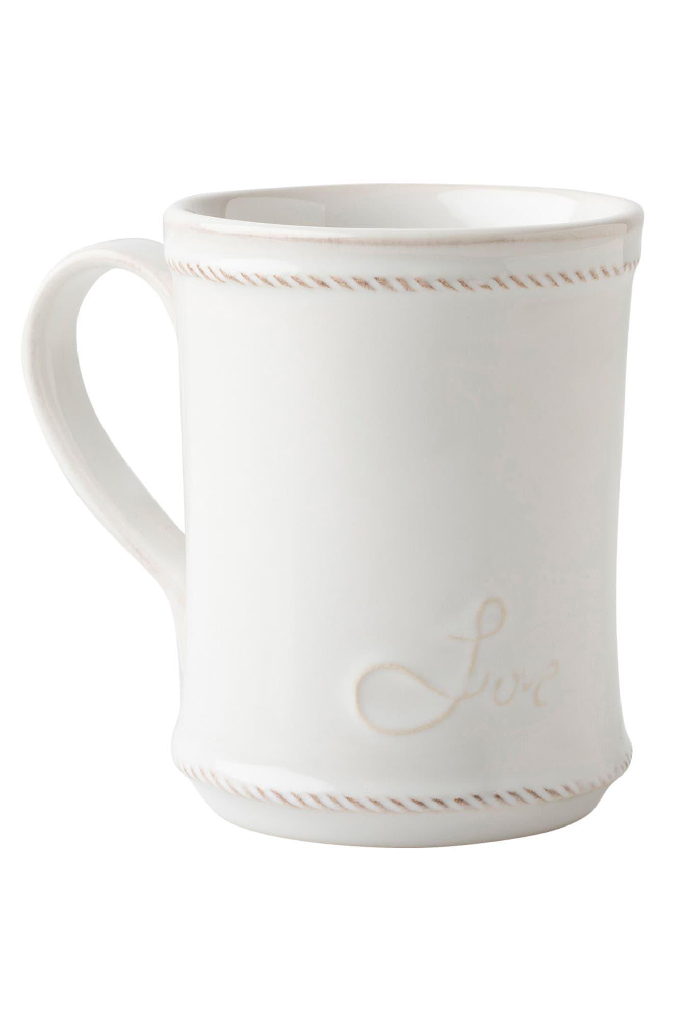 Cupfull of Love Ceramic Mug,                             Alternate thumbnail 2, color,                             WHITE