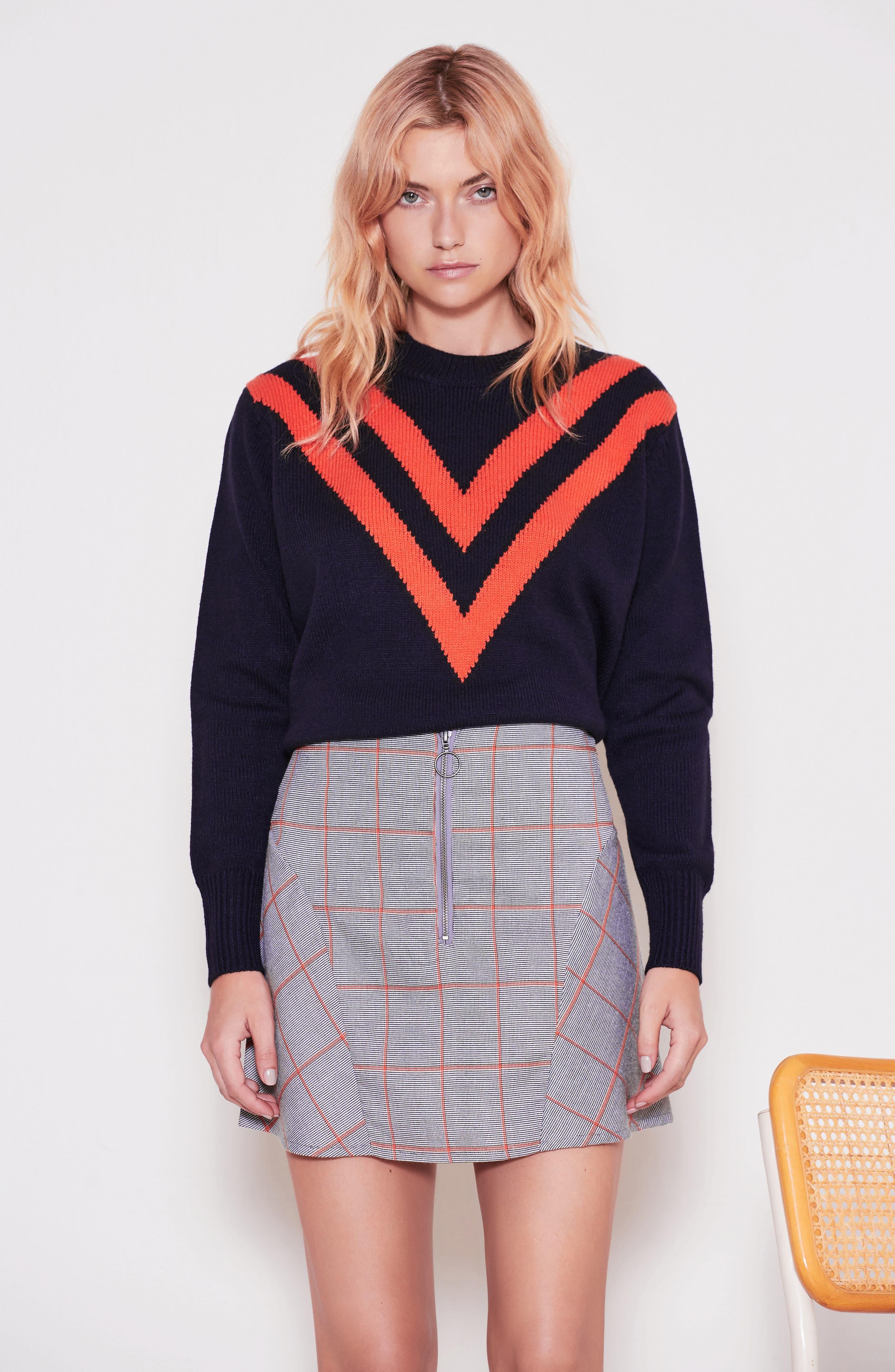 Varsity Sweater,                             Alternate thumbnail 7, color,                             400