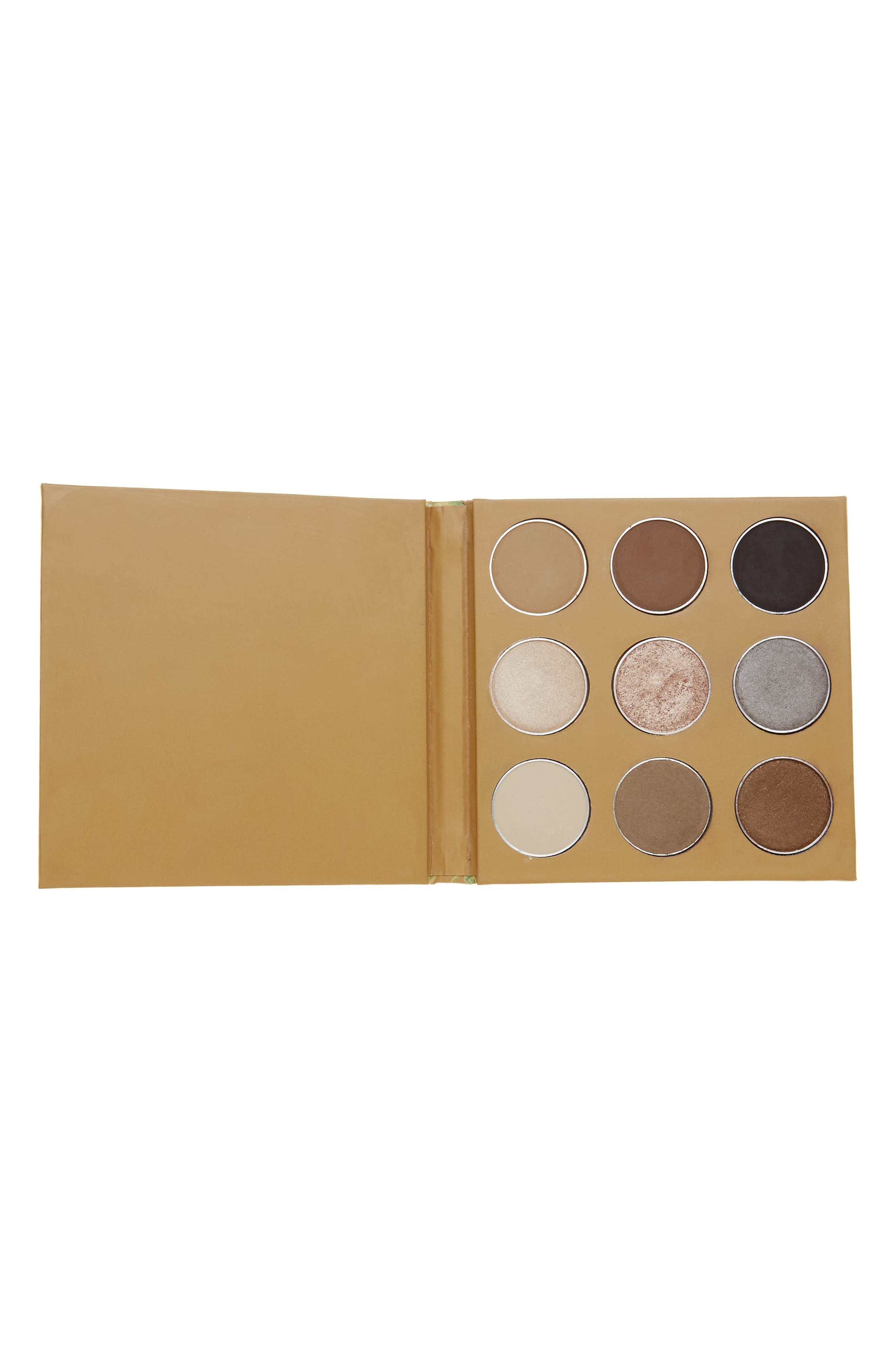 Coffee Eyeshadow Palette,                             Main thumbnail 1, color,                             NO COLOR