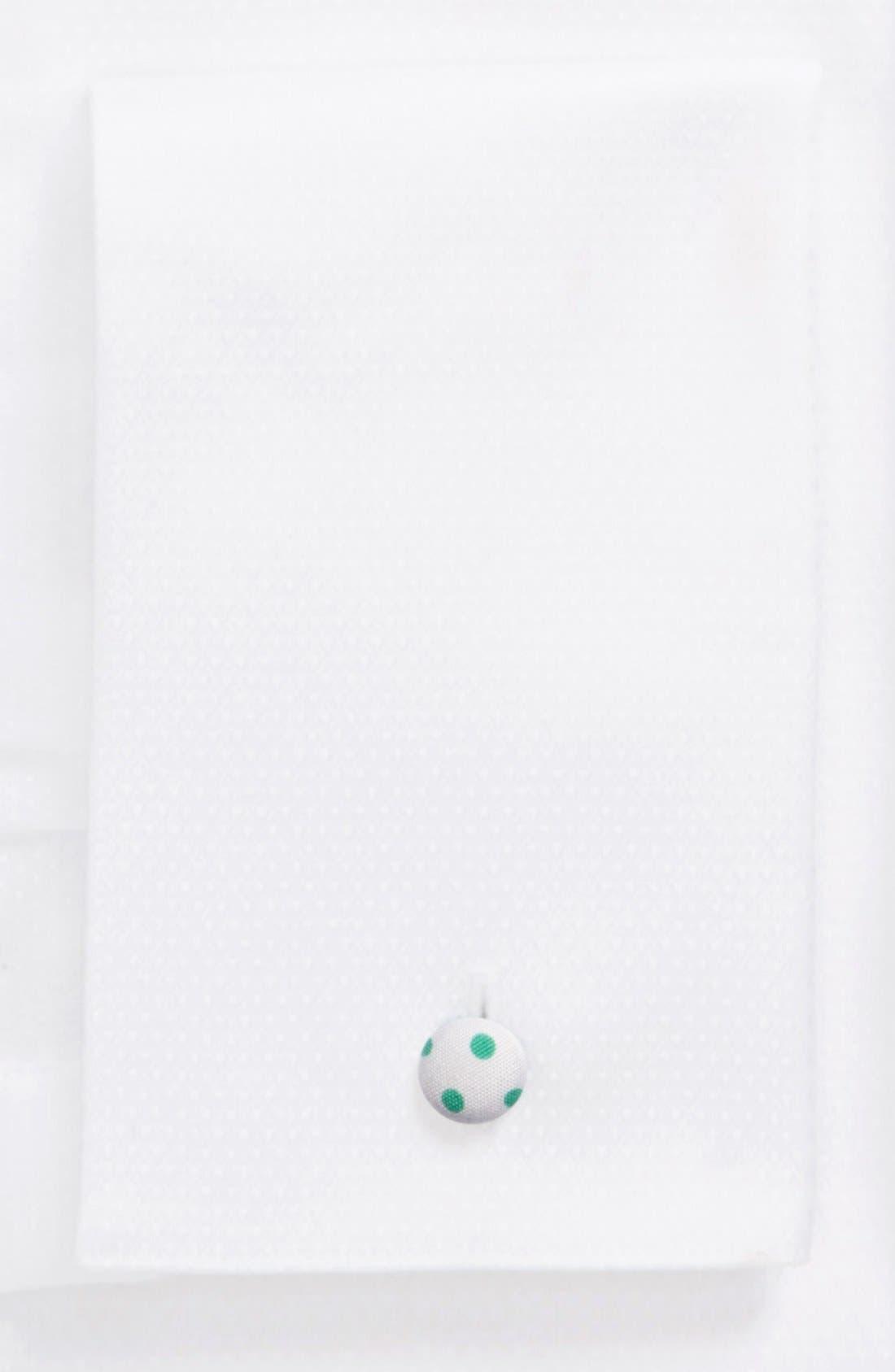 Contemporary Fit Diamond Weave Tuxedo Shirt,                             Alternate thumbnail 4, color,                             WHITE