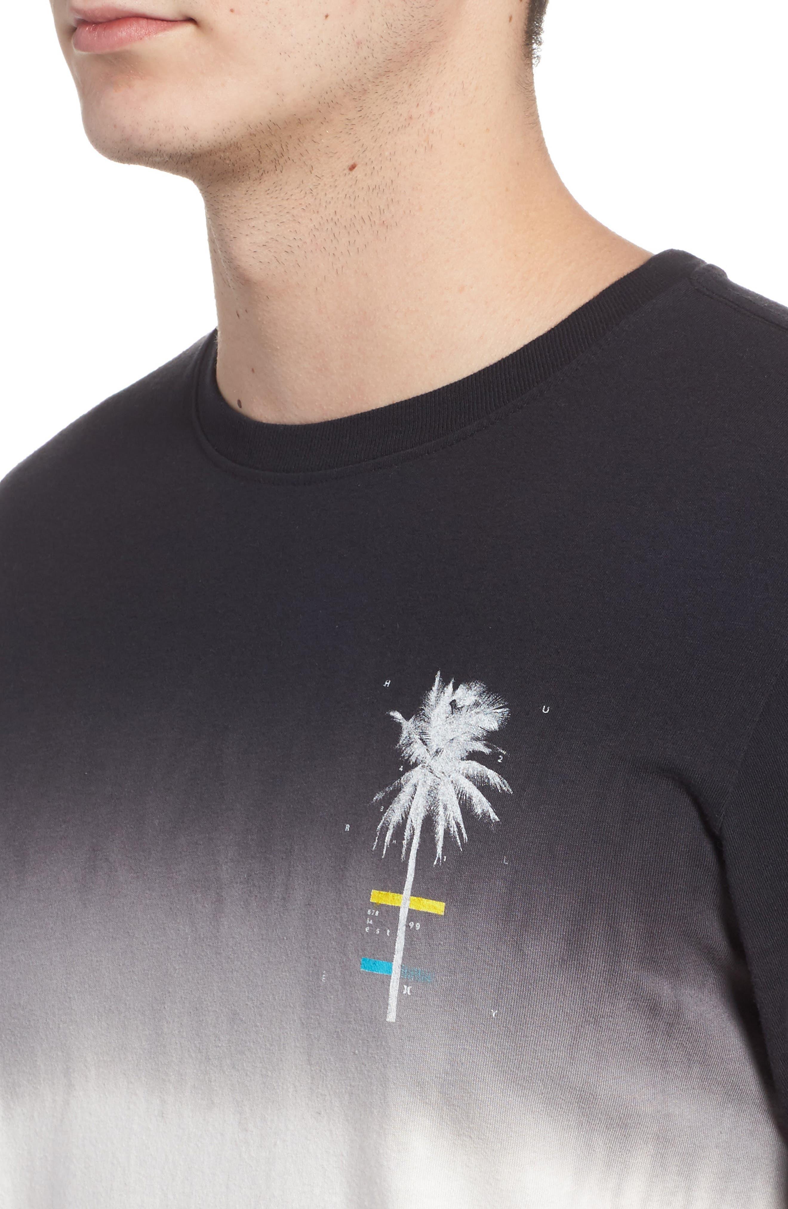 Trajectory Dip Dye T-Shirt,                             Alternate thumbnail 4, color,                             100