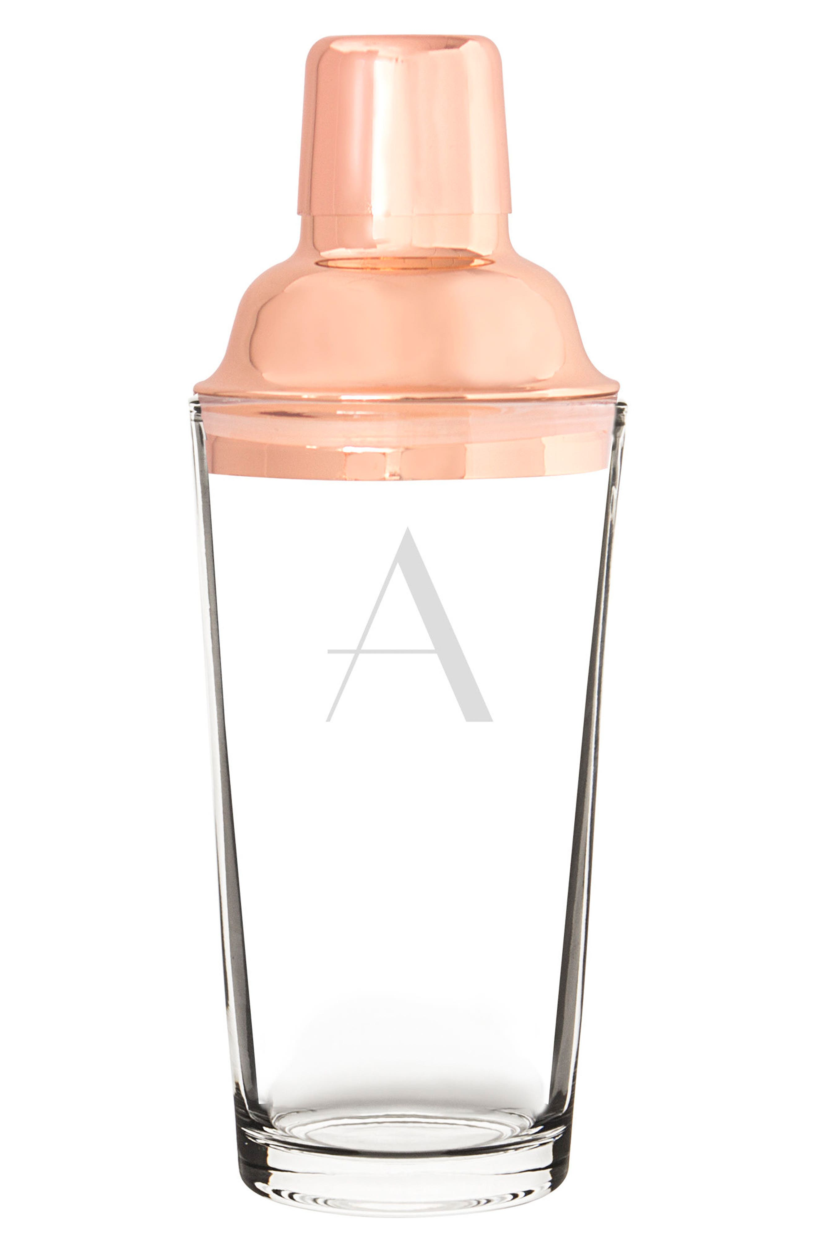 Monogram Coppertone Cocktail Shaker,                             Main thumbnail 2, color,