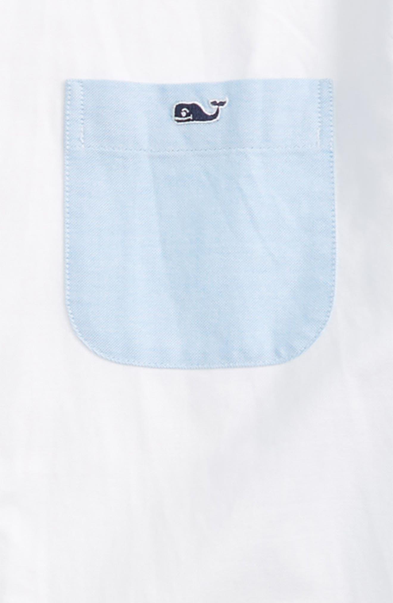 Party Whale Oxford Shirt,                             Alternate thumbnail 2, color,                             408