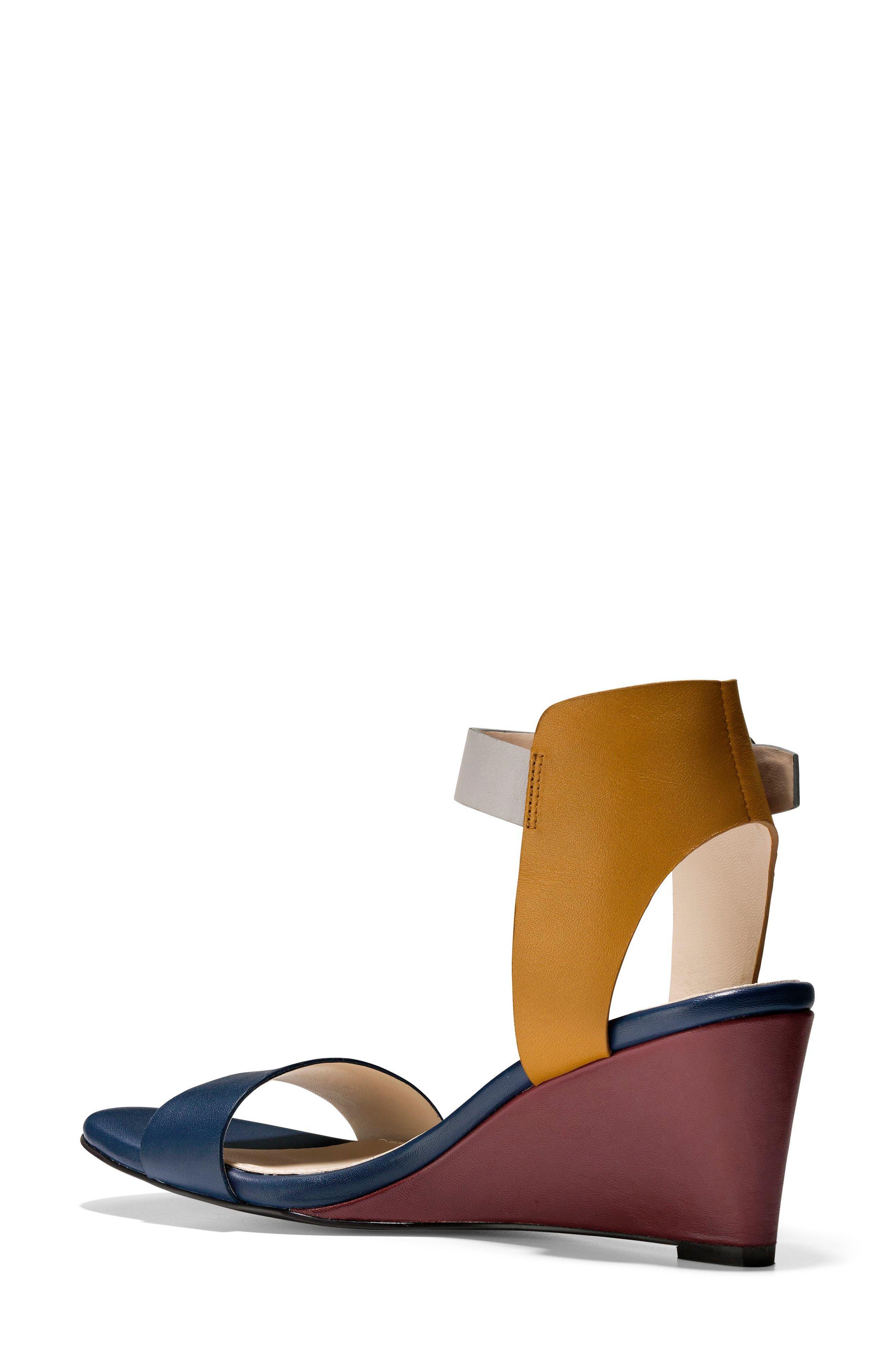 Rosalind Wedge Sandal,                             Alternate thumbnail 6, color,