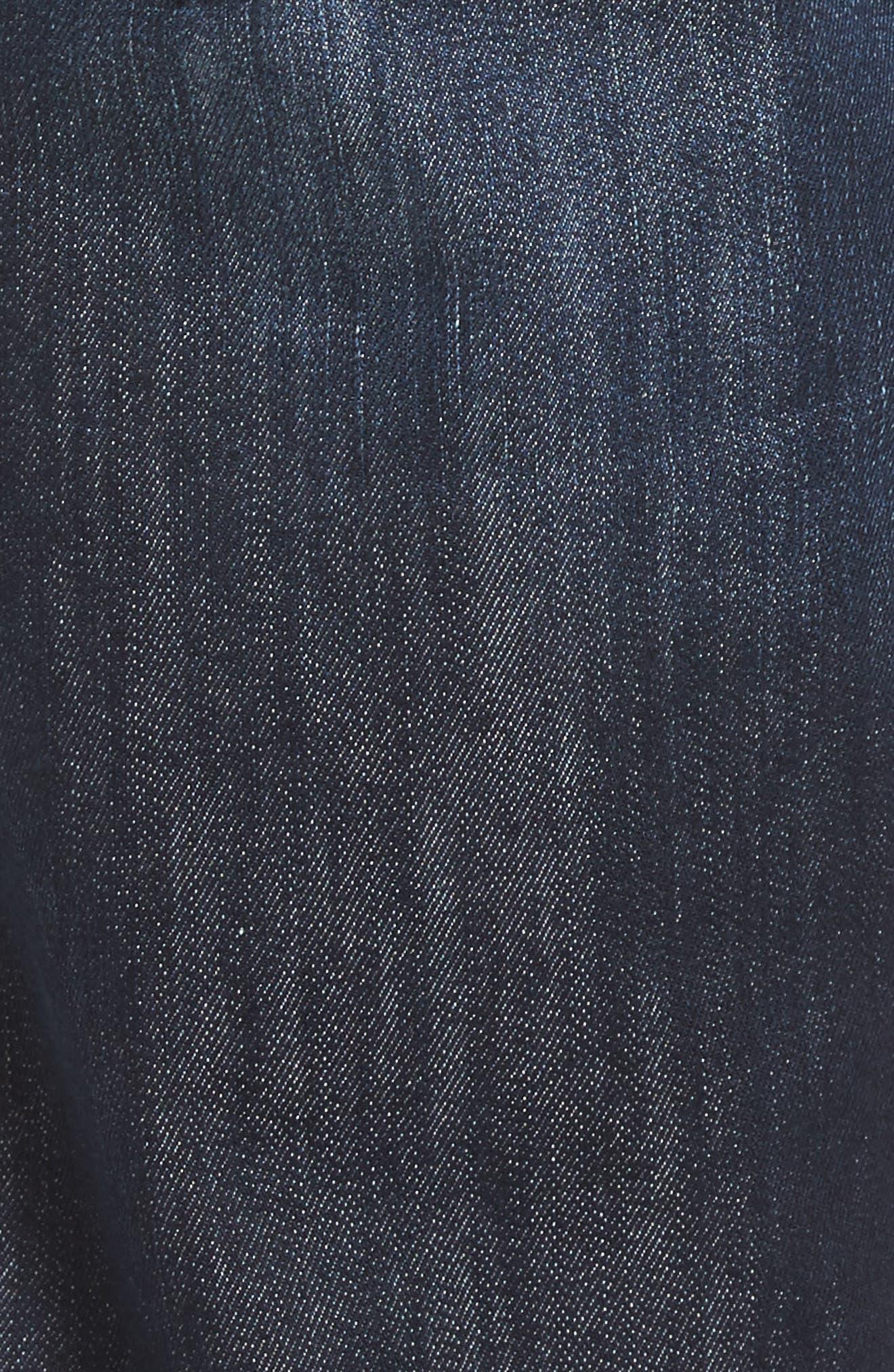 Matt Relaxed Fit Jeans,                             Alternate thumbnail 5, color,                             DARK STANFORD