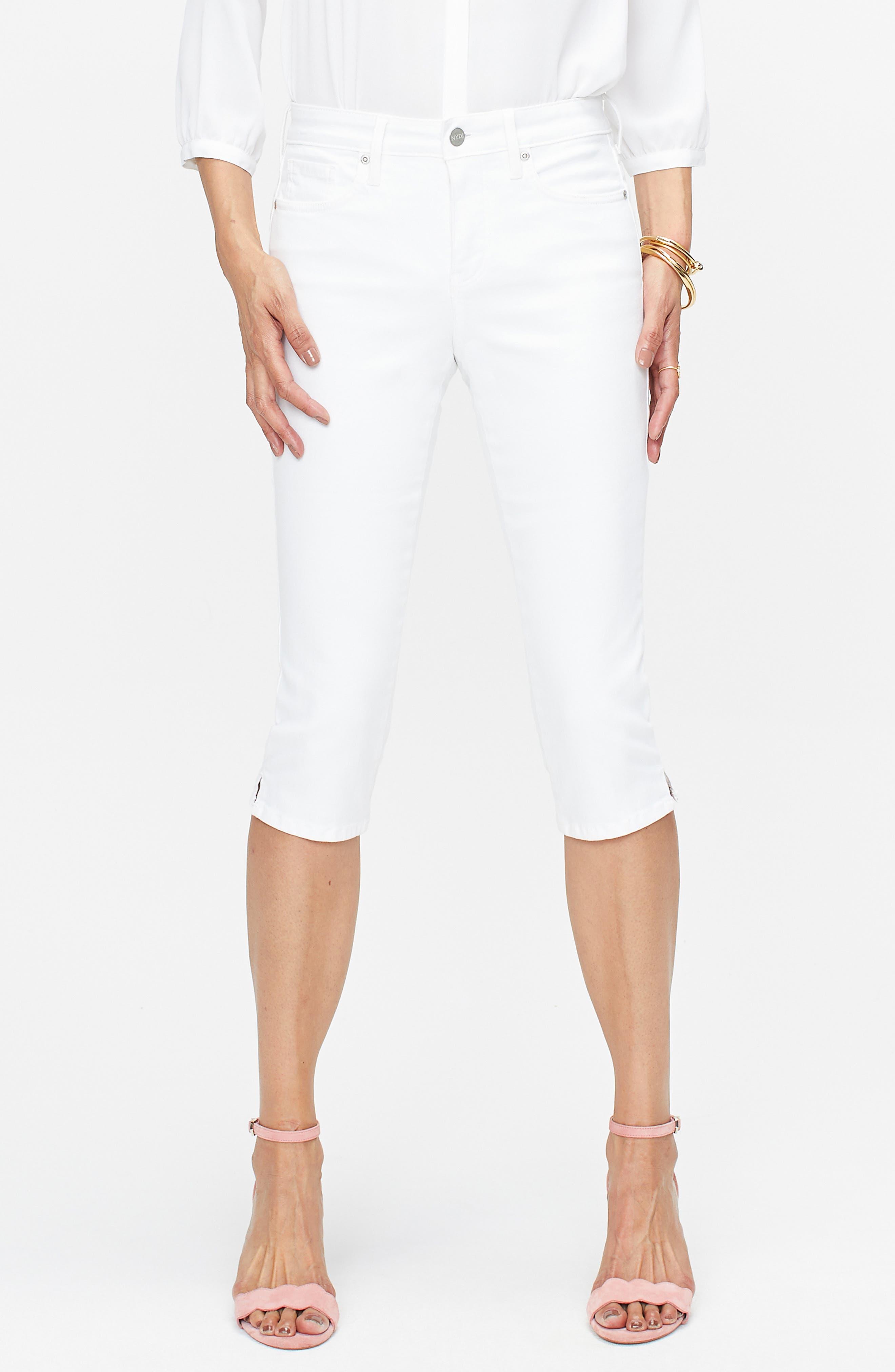 Nydj Skinny Capri Jeans, White