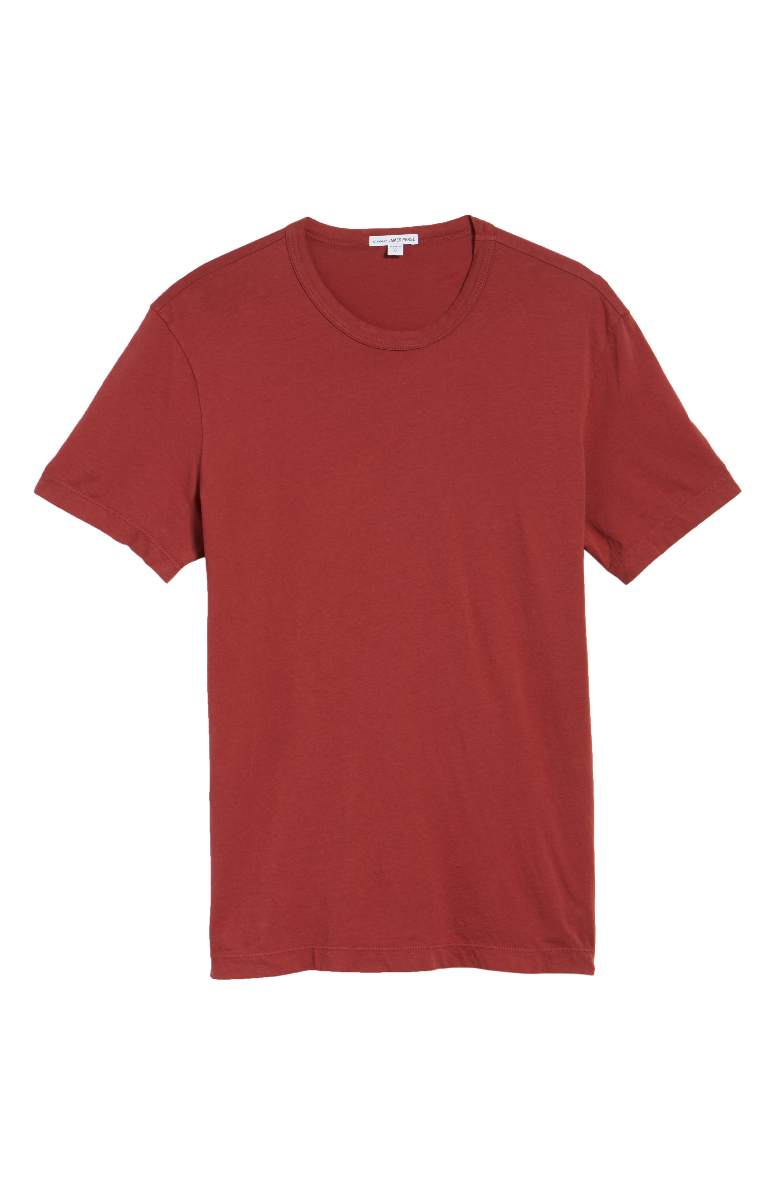 Crewneck Jersey T-Shirt,                             Alternate thumbnail 483, color,