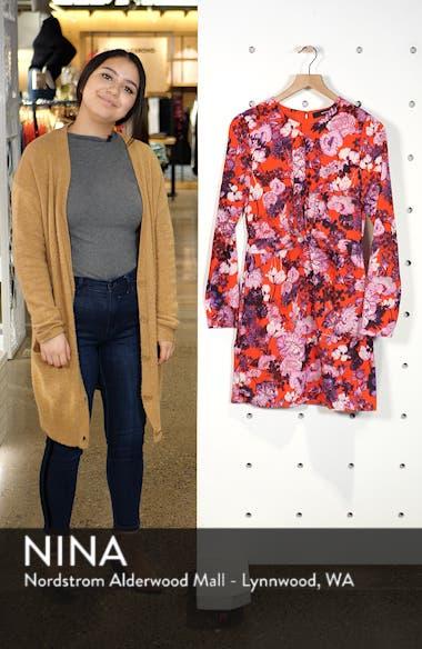 Marlene Floral Drape Dress, sales video thumbnail