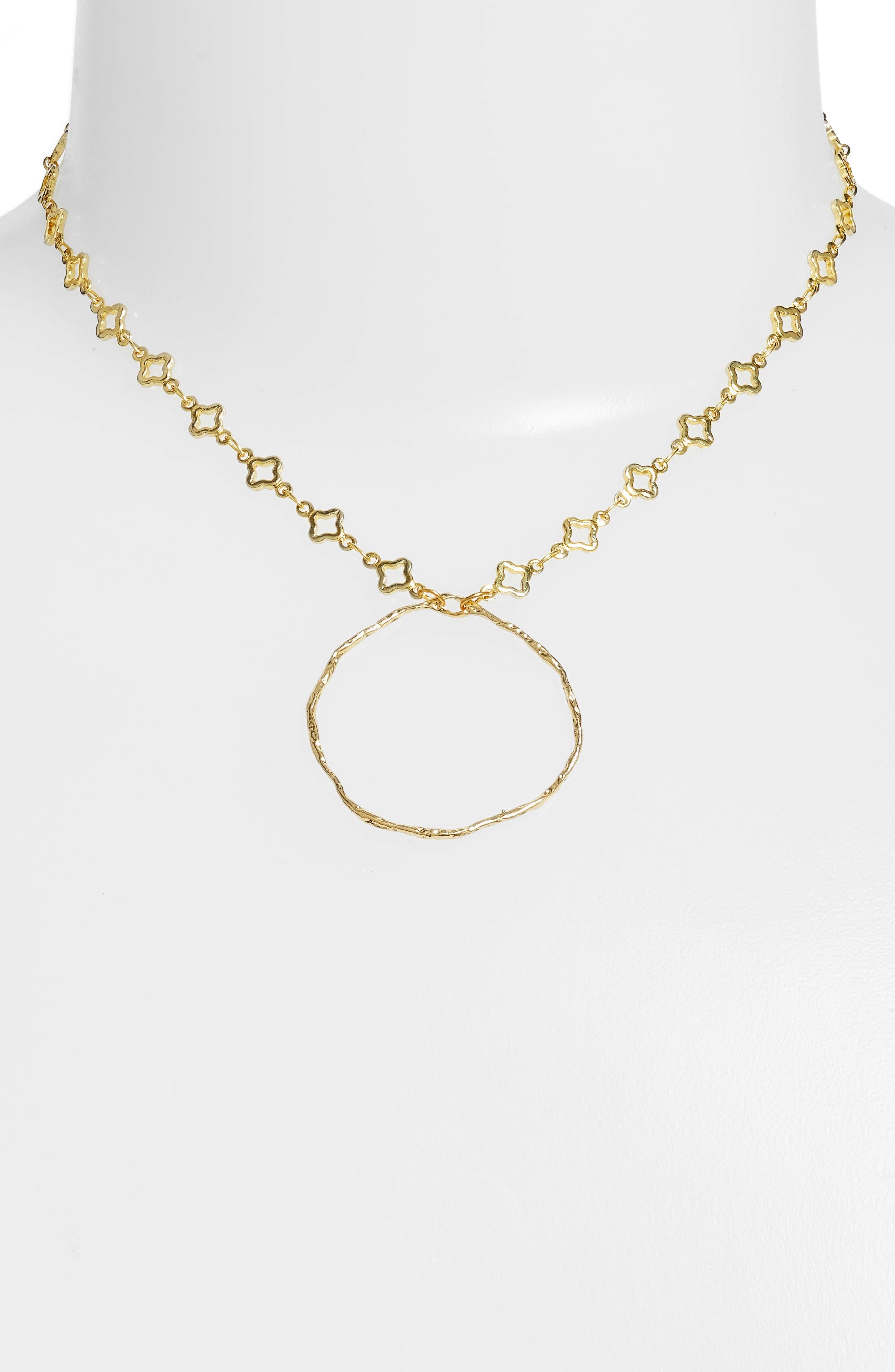 Catalan Hoop Pendant Necklace,                             Alternate thumbnail 2, color,