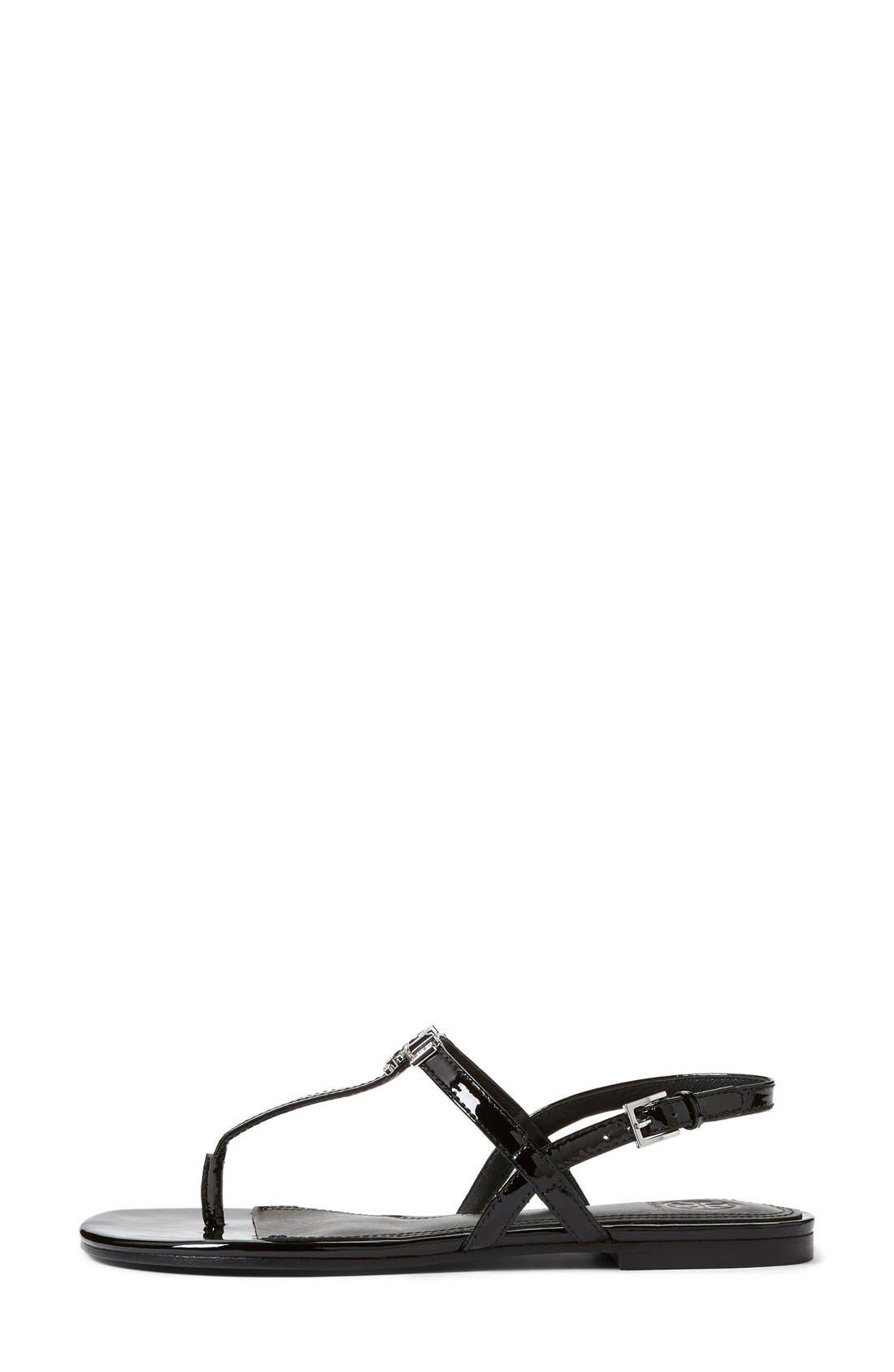 'Kieran' Sandal,                             Alternate thumbnail 4, color,                             001