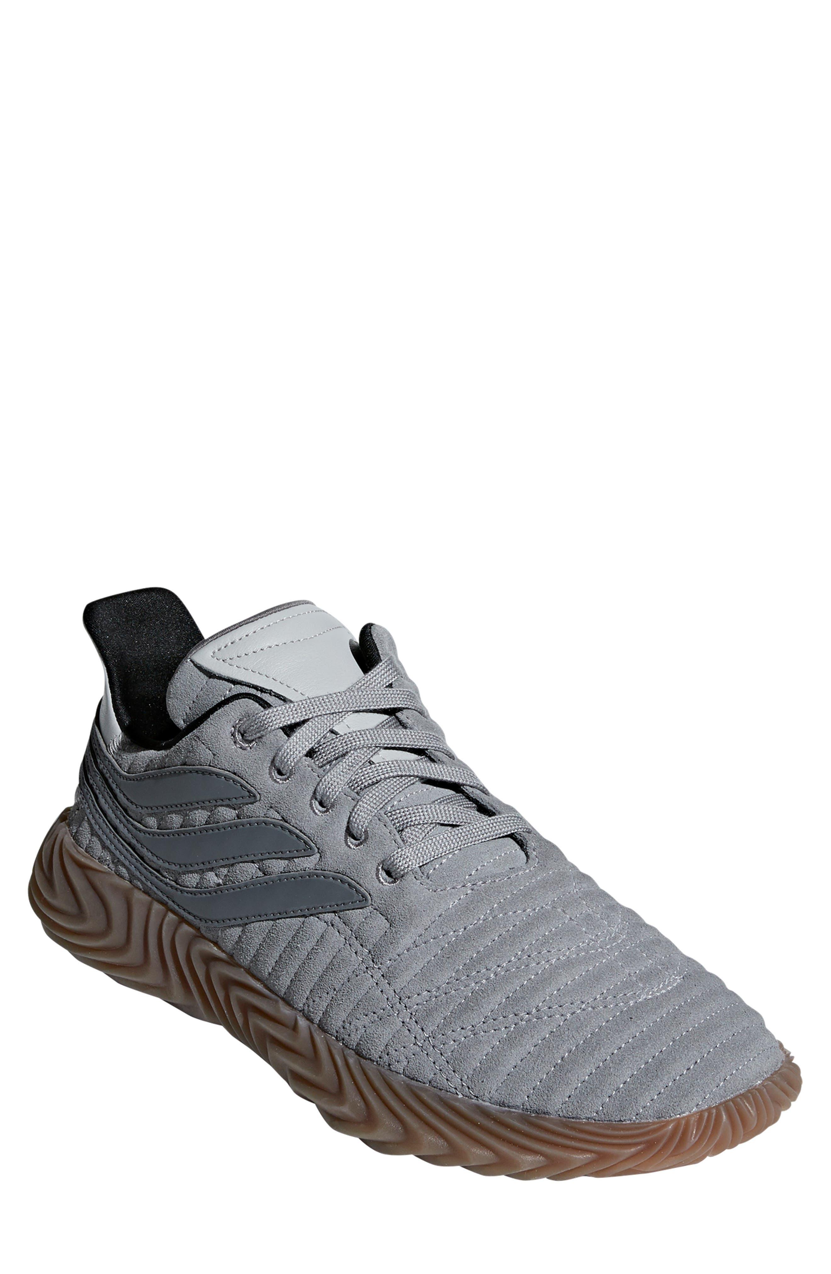 Sobakov Sneaker, Main, color, GREY/ GREY