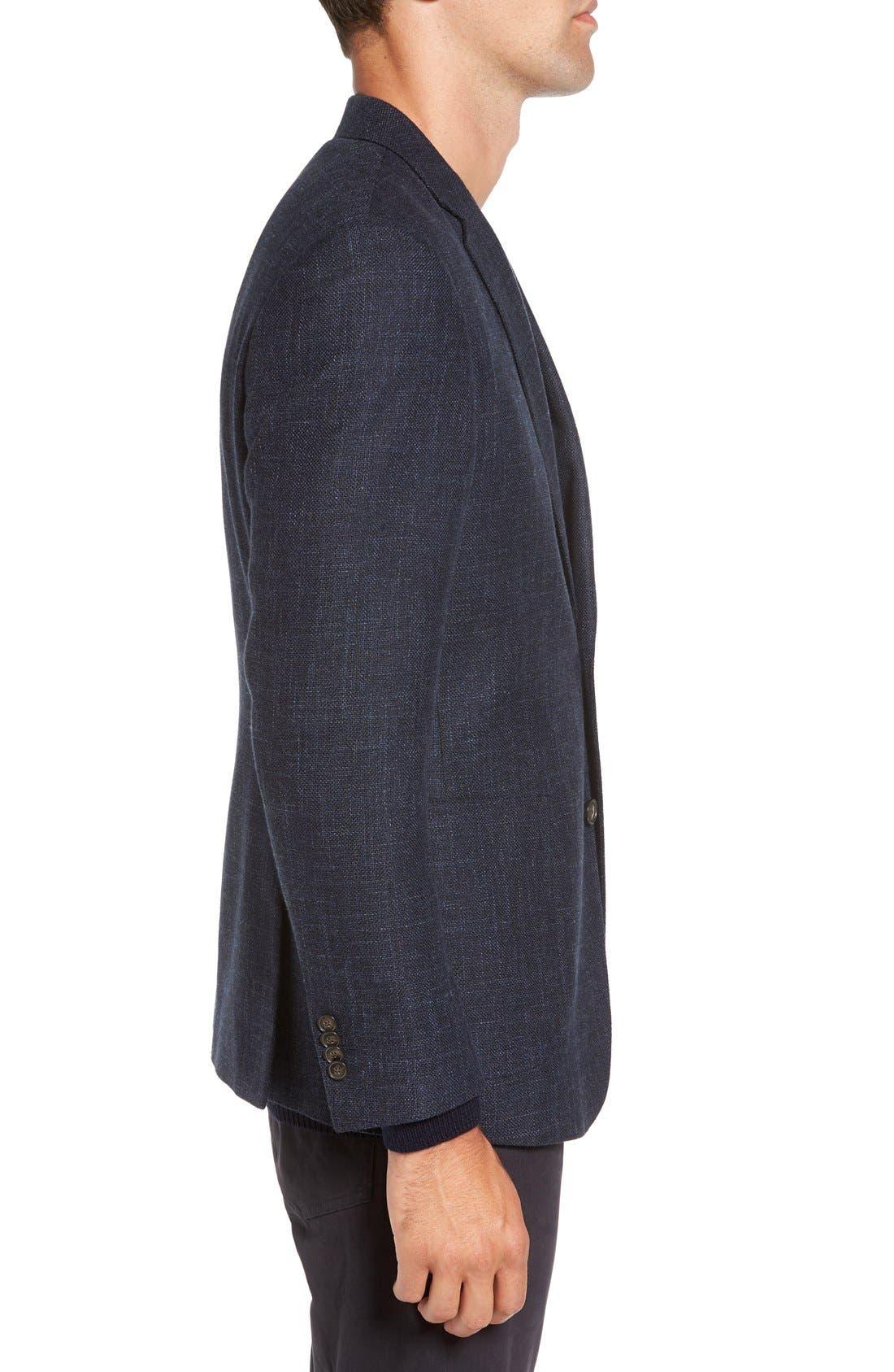 'Heaton' Sports Fit Cotton & Wool Sport Coat,                             Alternate thumbnail 4, color,                             410
