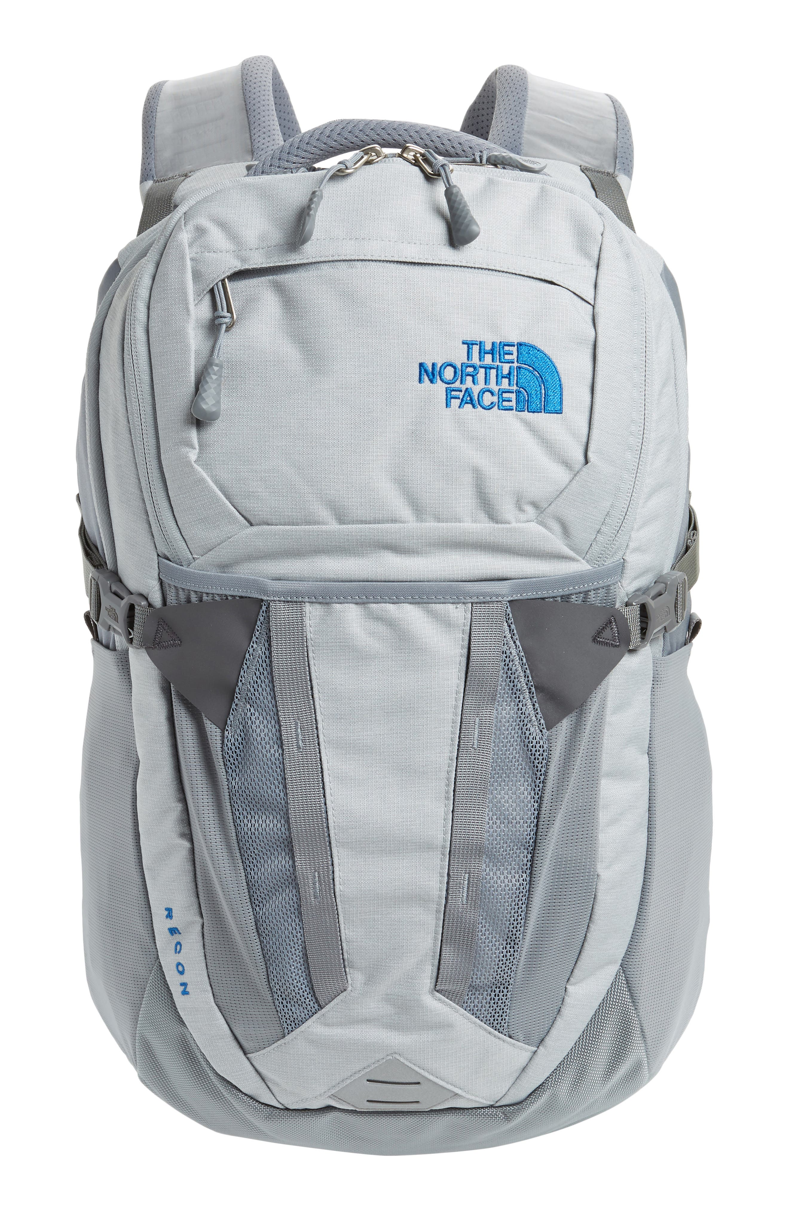 Recon Backpack, Main, color, HIGH RISE GREY HEATHER/ GREY