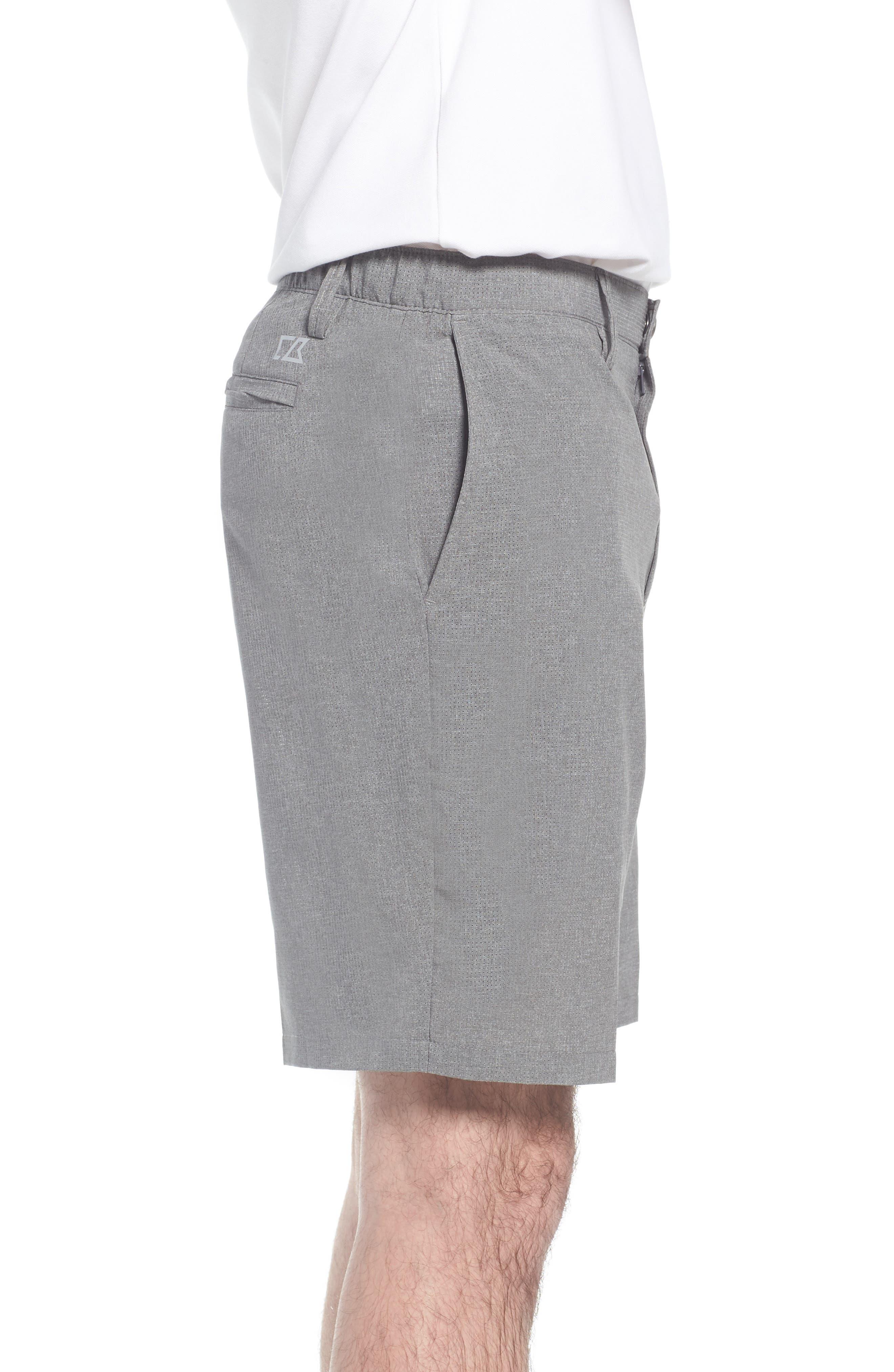 Windsor Active Classic Fit Shorts,                             Alternate thumbnail 3, color,                             GRAVEL