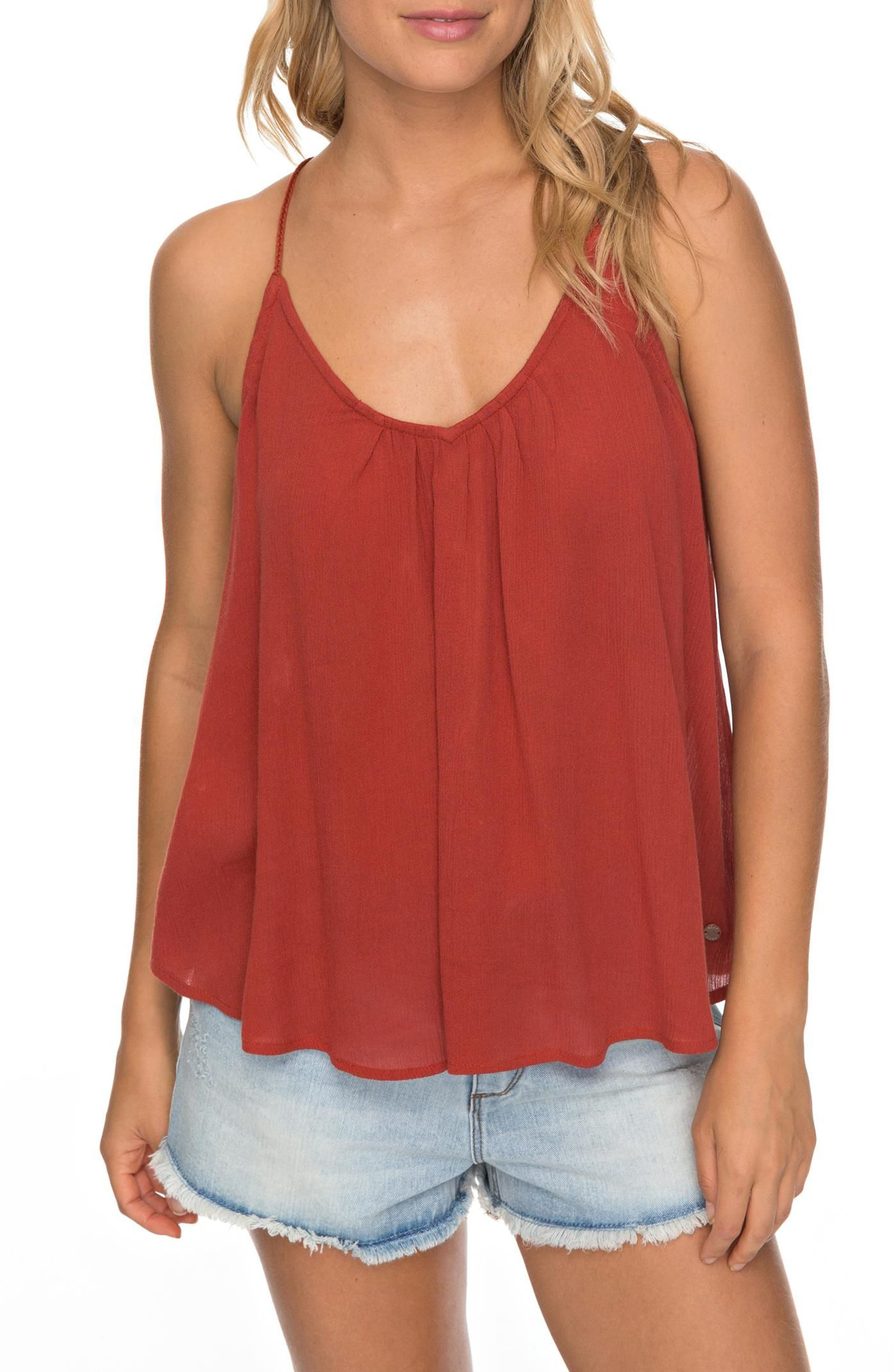Local in the Sky Tie Back Tank,                         Main,                         color, 002