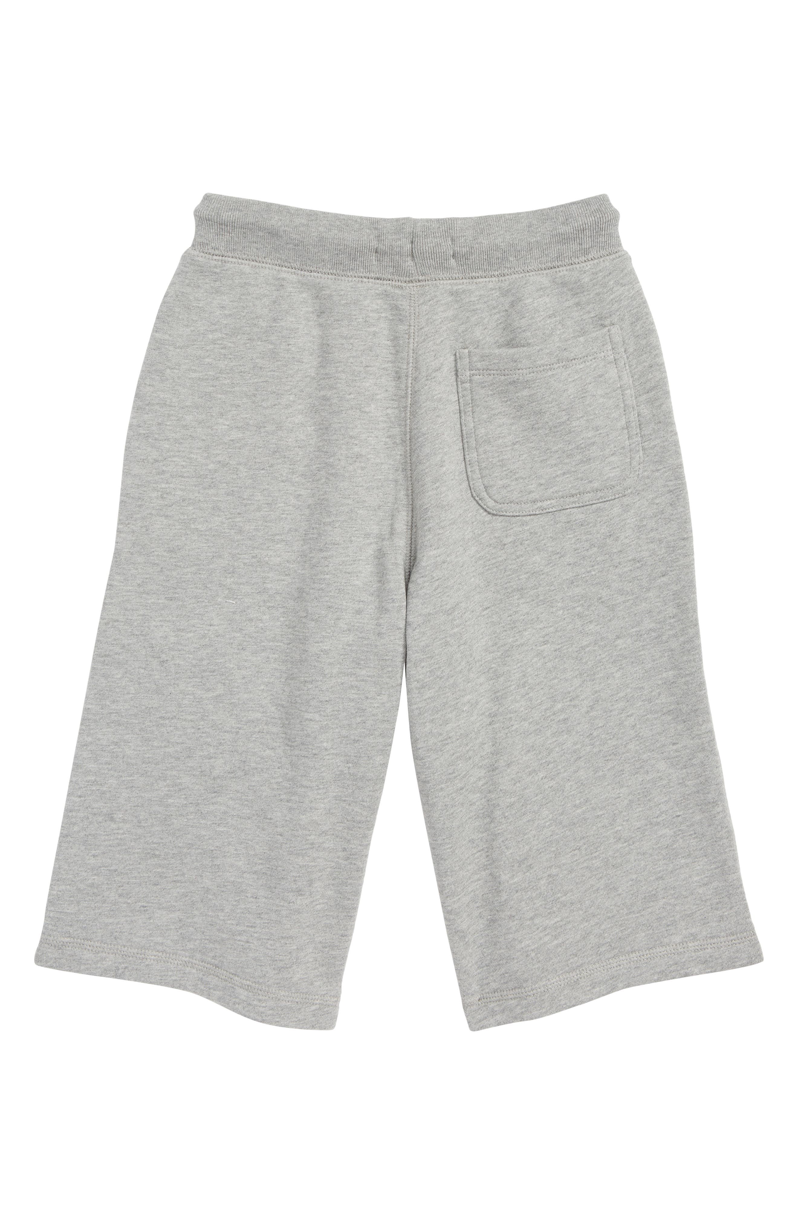 Knit Shorts,                             Alternate thumbnail 2, color,                             GREY MELANGE