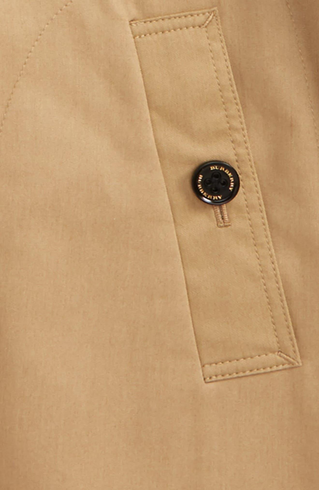 Geri Update Hooded Rain Jacket,                             Alternate thumbnail 2, color,                             HONEY