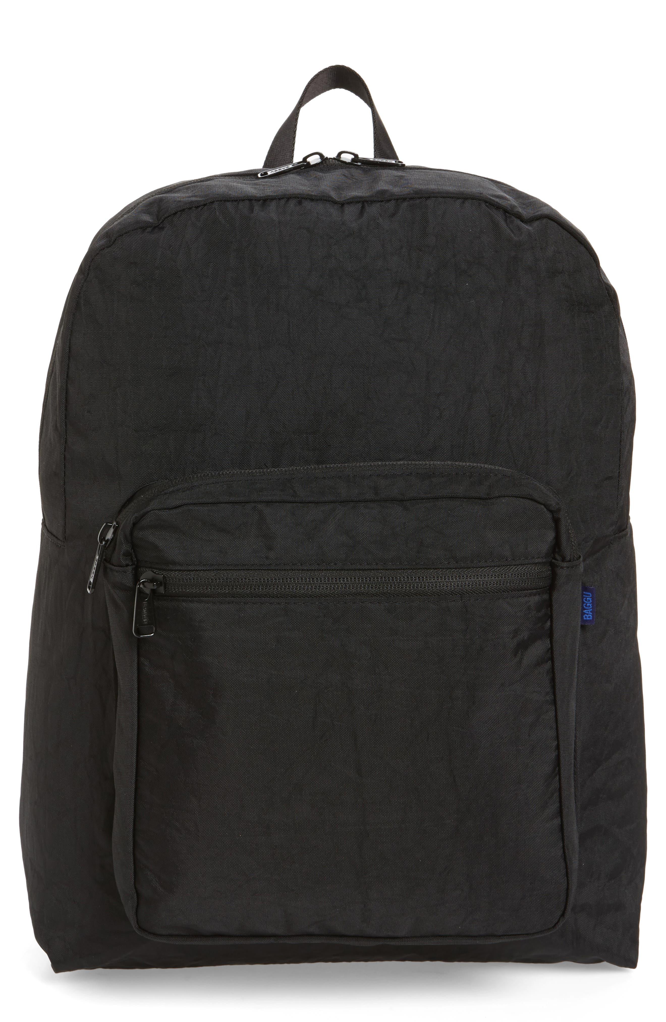 Nylon Backpack,                             Main thumbnail 1, color,                             001
