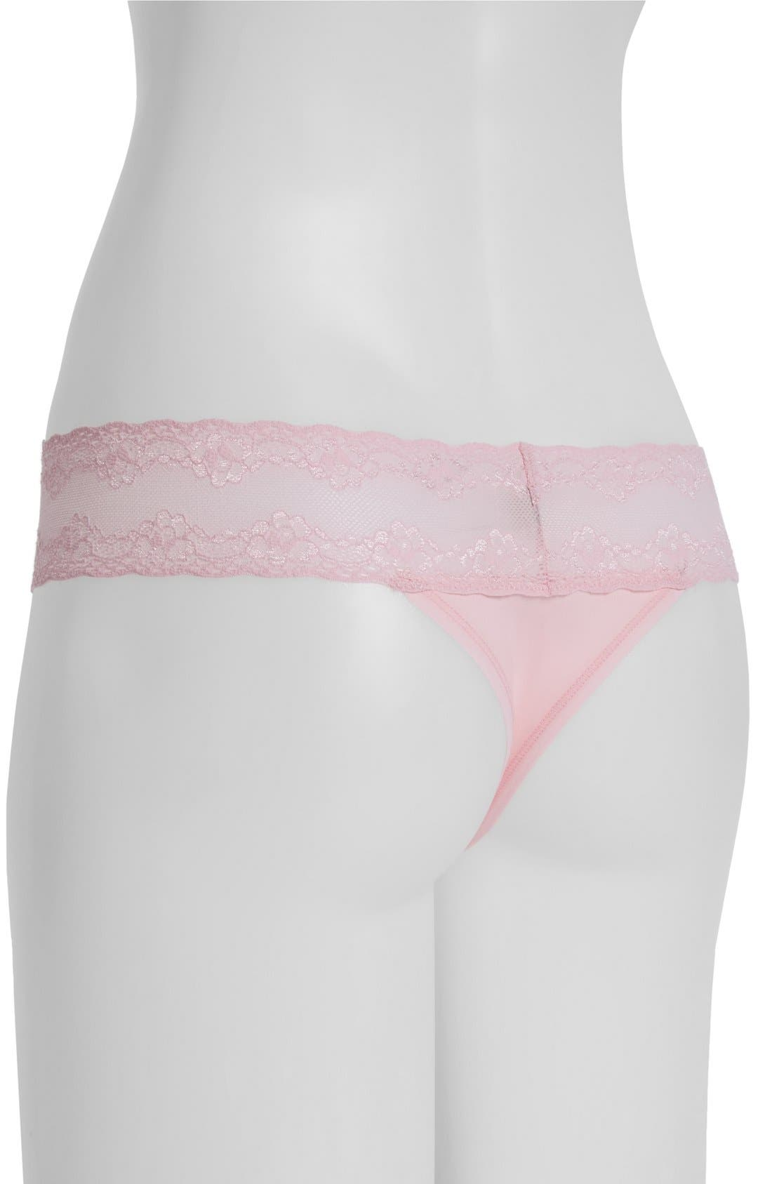 Bliss Perfection Thong,                             Alternate thumbnail 379, color,
