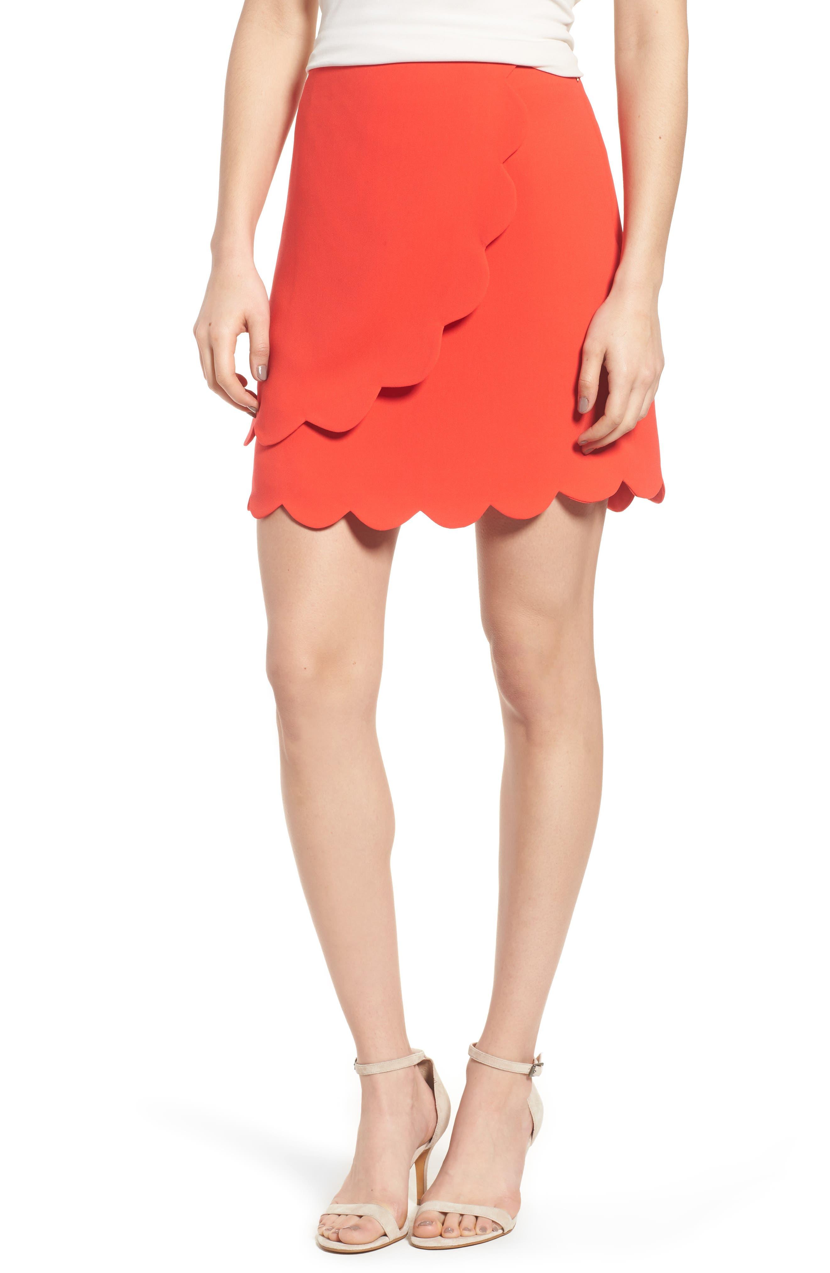 Scallop Skirt,                             Main thumbnail 2, color,