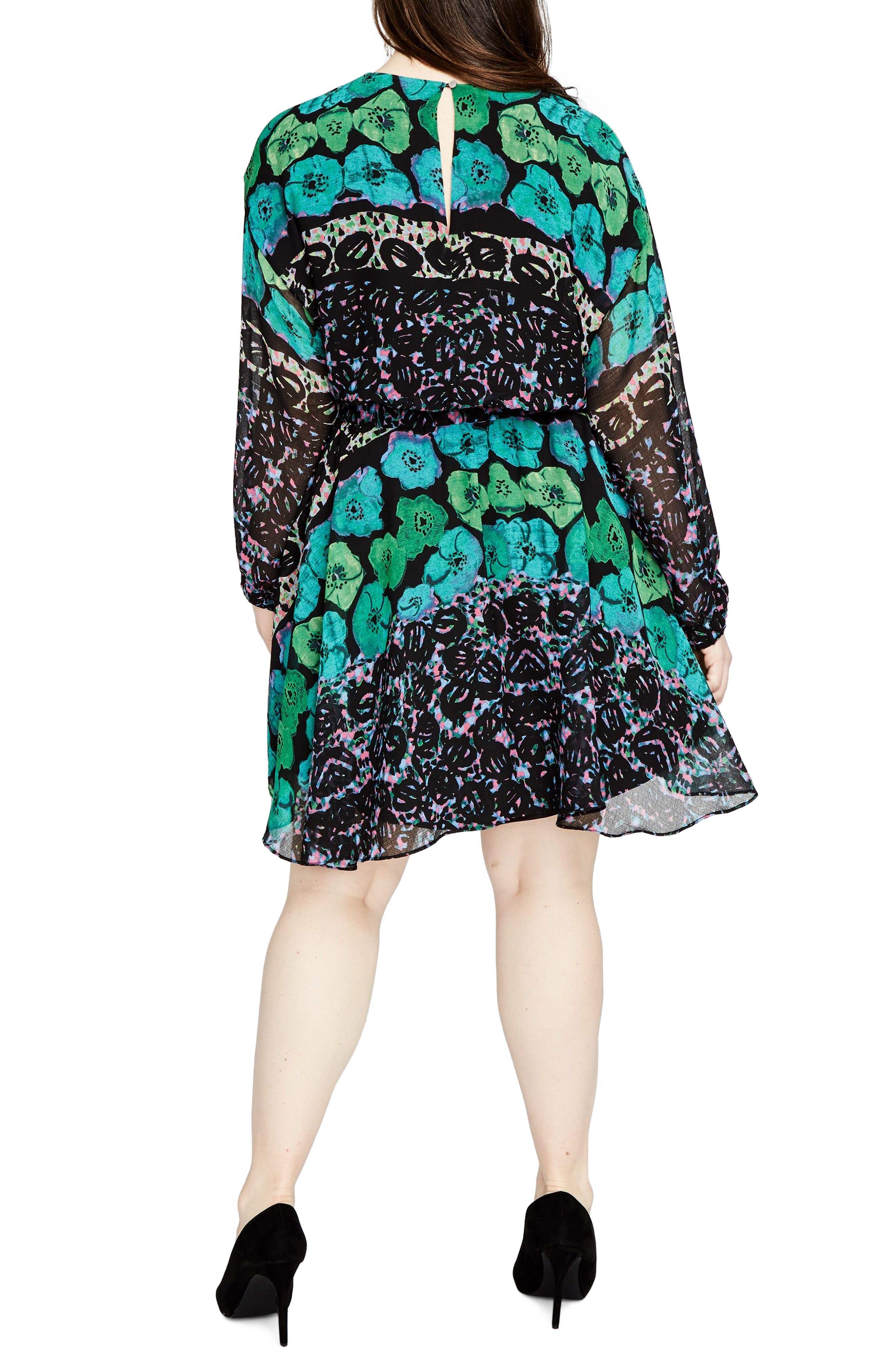 Easy Floral Dress,                             Alternate thumbnail 2, color,                             303