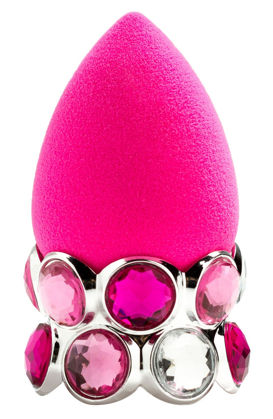 BEAUTYBLENDER<SUP>®</SUP>,                             'bling.ring' Drying Stand & Makeup Sponge Applicator,                             Main thumbnail 1, color,                             000