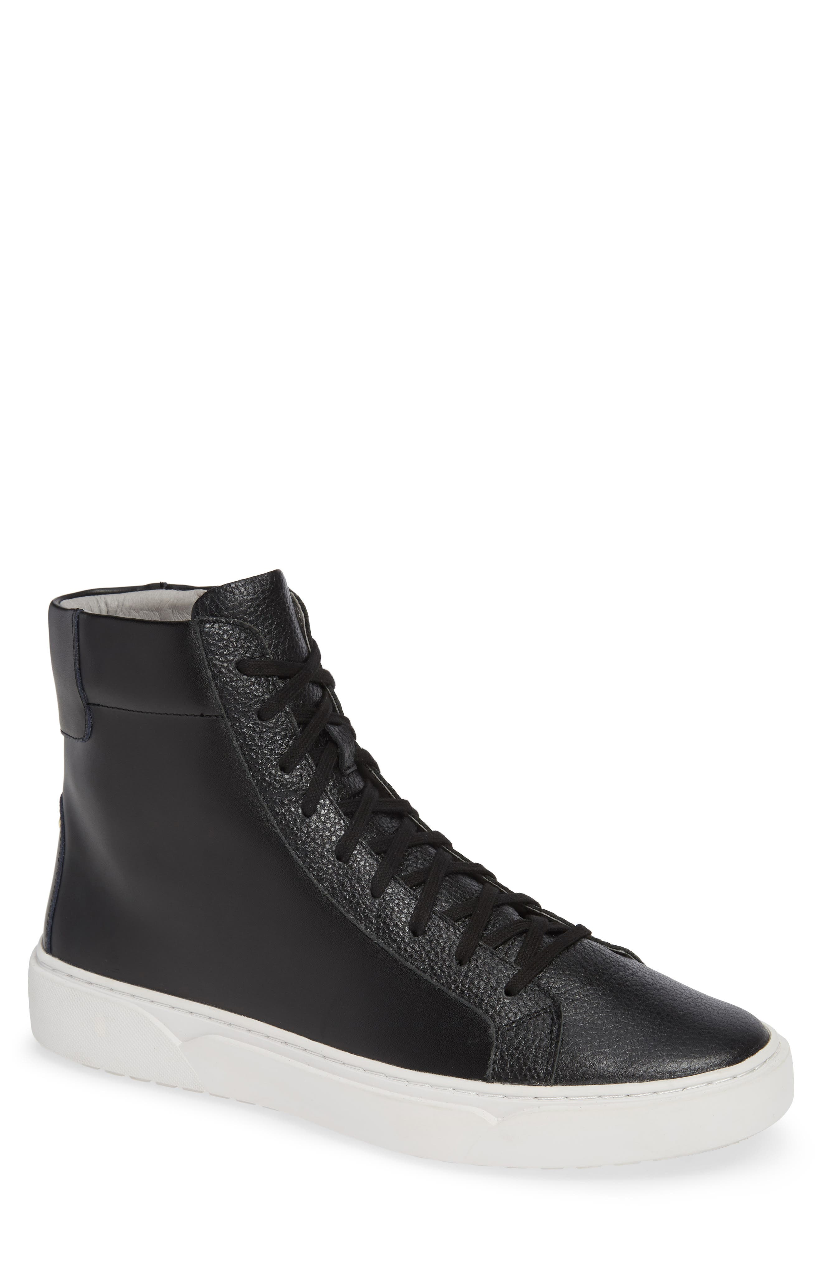 Logan High Top Sneaker,                             Main thumbnail 1, color,                             HIGHLAND LEATHER