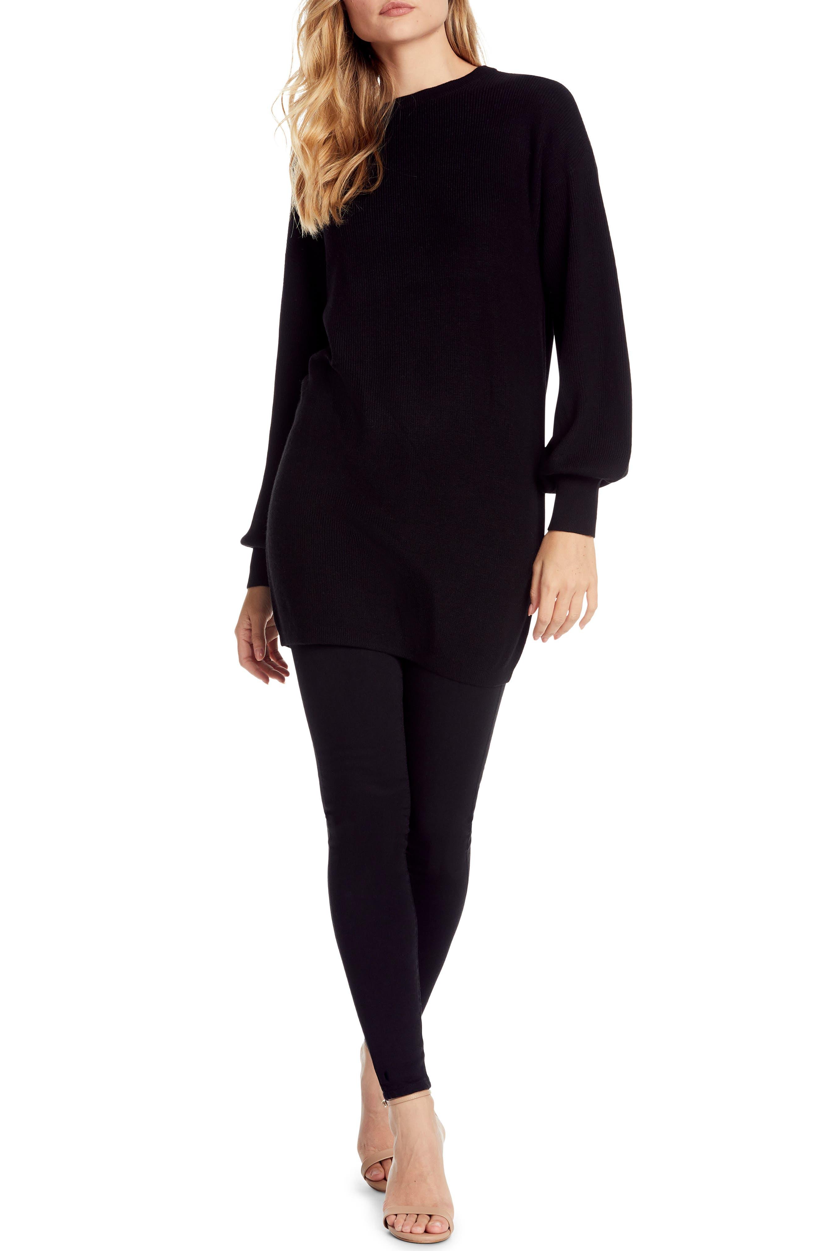 Michael Stars Bishop Sleeve Sweater Dress