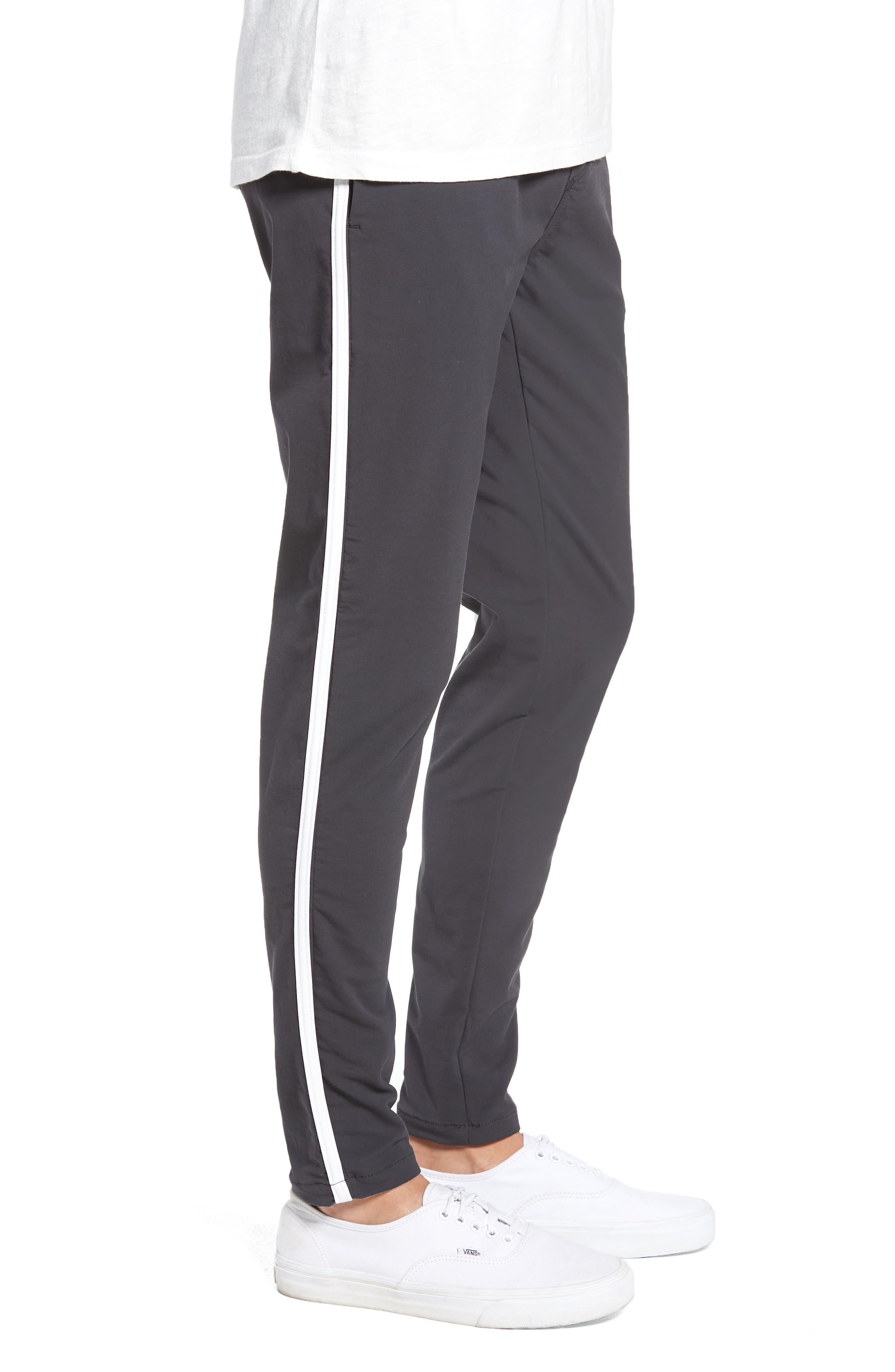 Jumpshot Slim Track Pants,                             Alternate thumbnail 3, color,                             VINTAGE BLACK