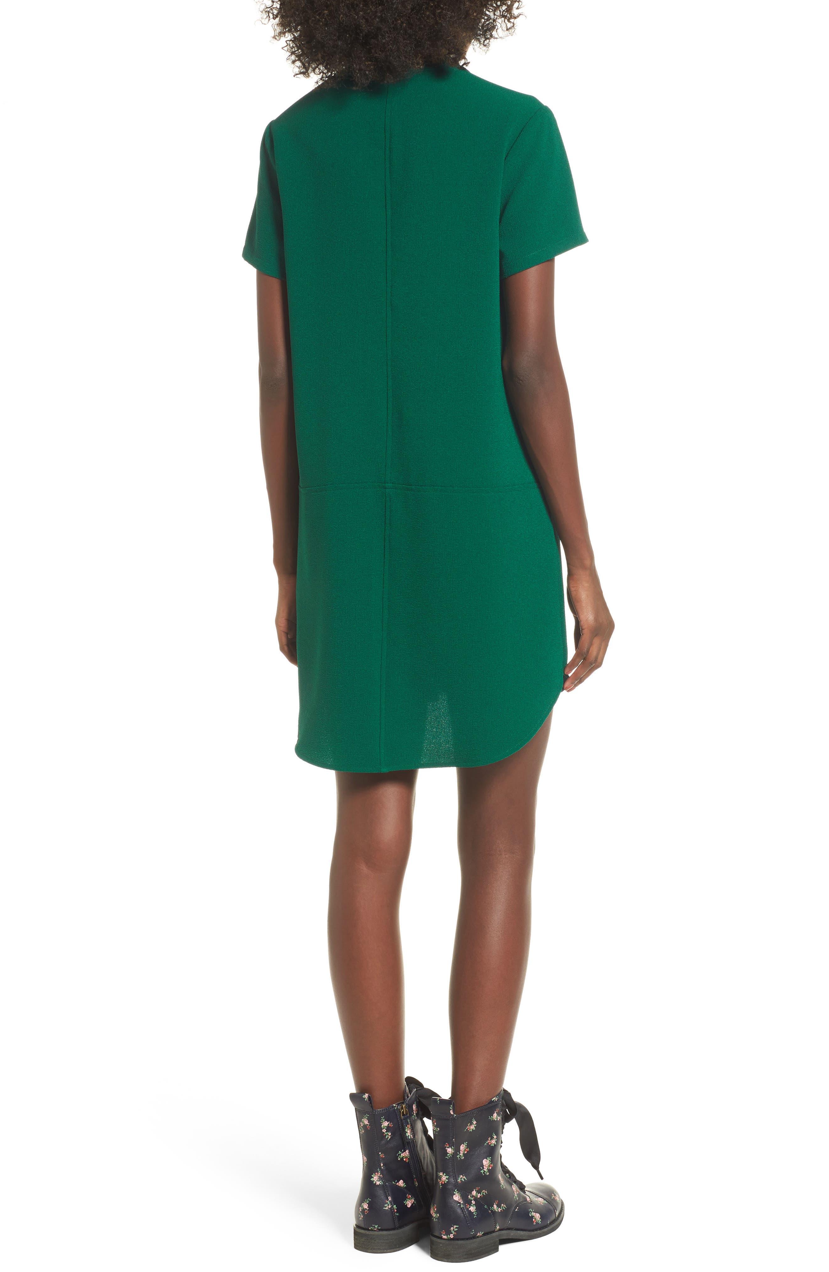 Hailey Crepe Dress,                             Alternate thumbnail 35, color,