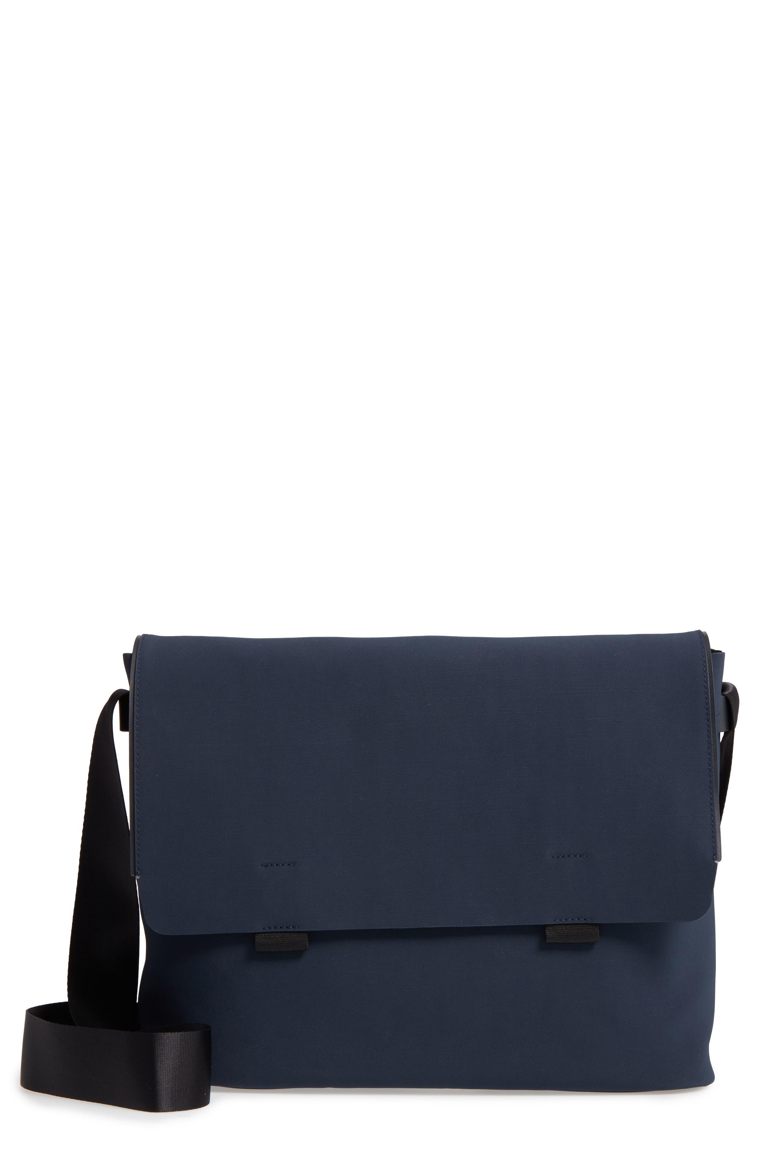 Canvas Messenger Bag,                         Main,                         color, 410