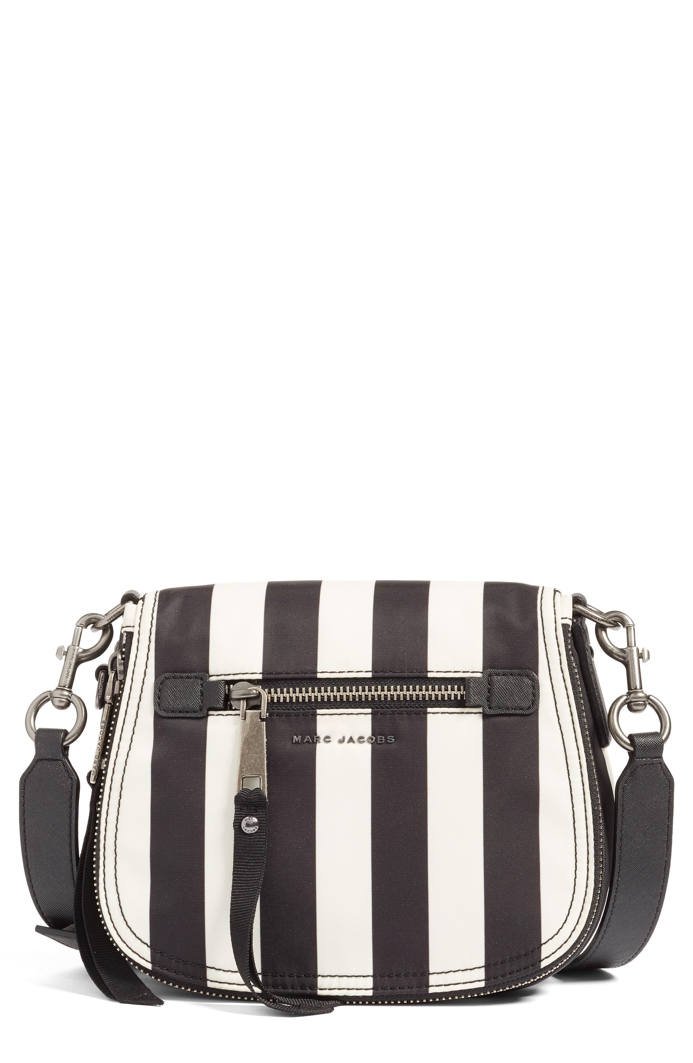 Trooper - Stripes Small Nylon Crossbody Bag,                             Main thumbnail 1, color,                             001