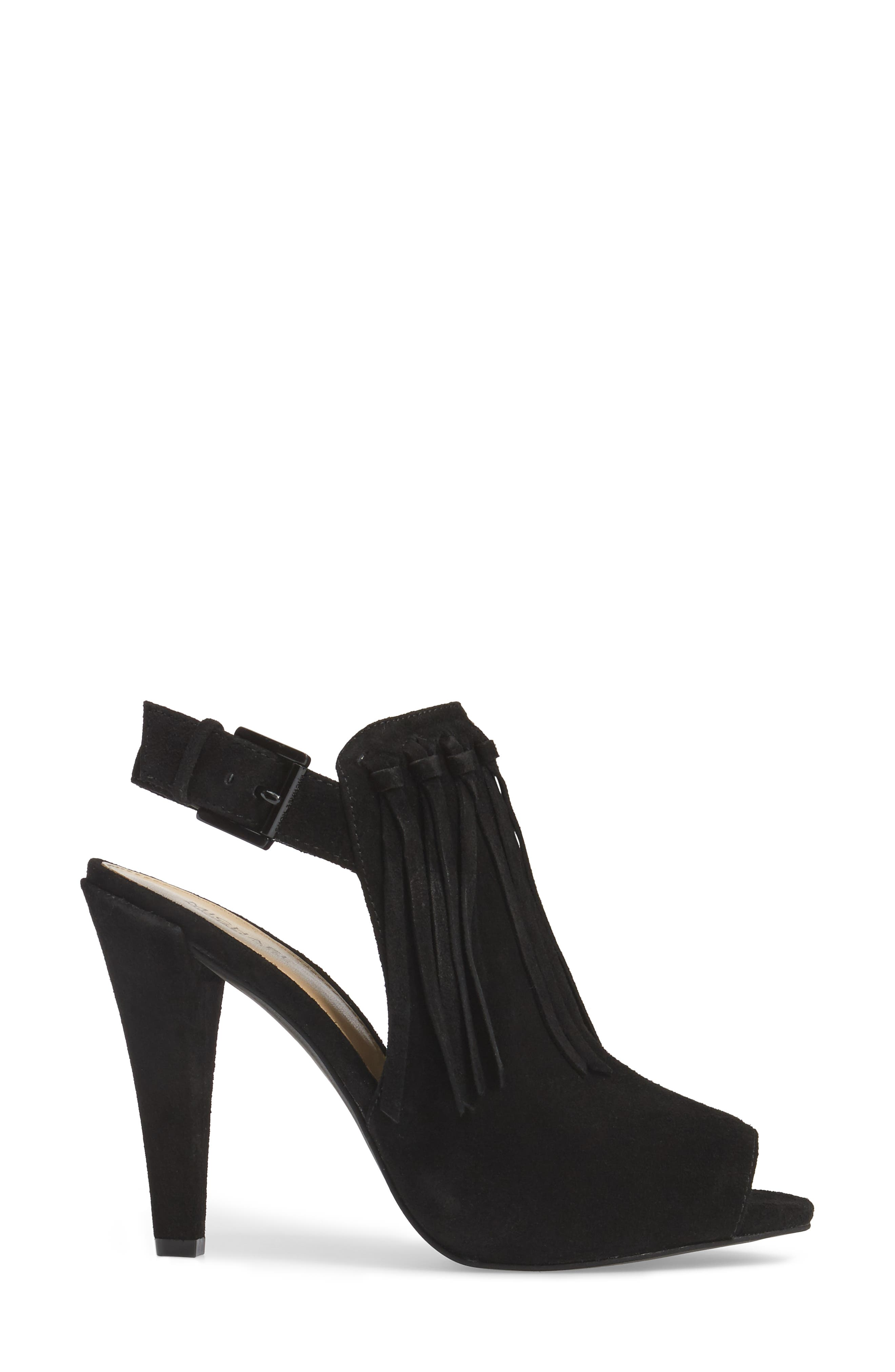 Kassidy Open Toe Bootie,                             Alternate thumbnail 5, color,