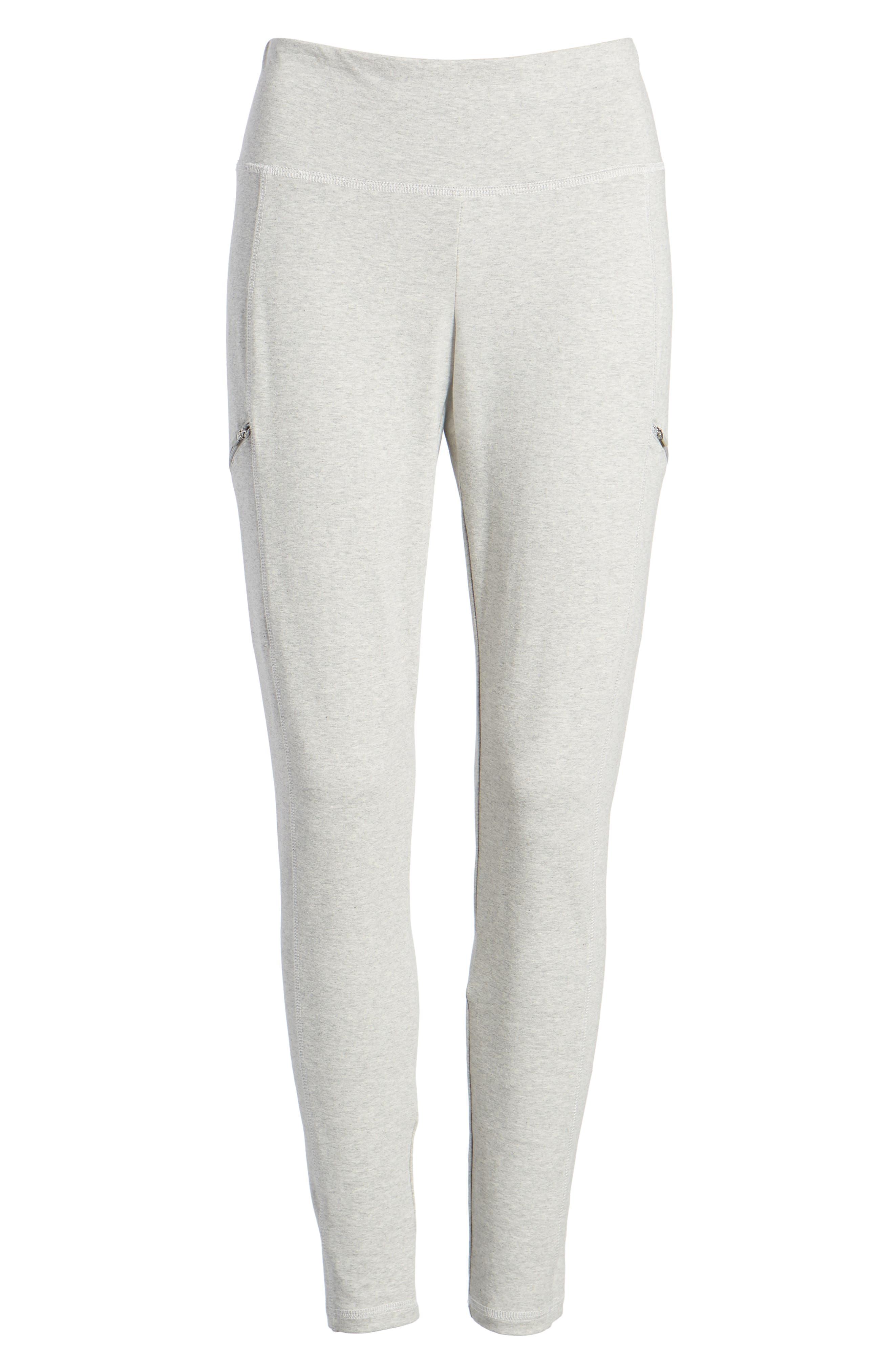 Stretch Organic Cotton Skinny Pants,                             Alternate thumbnail 7, color,