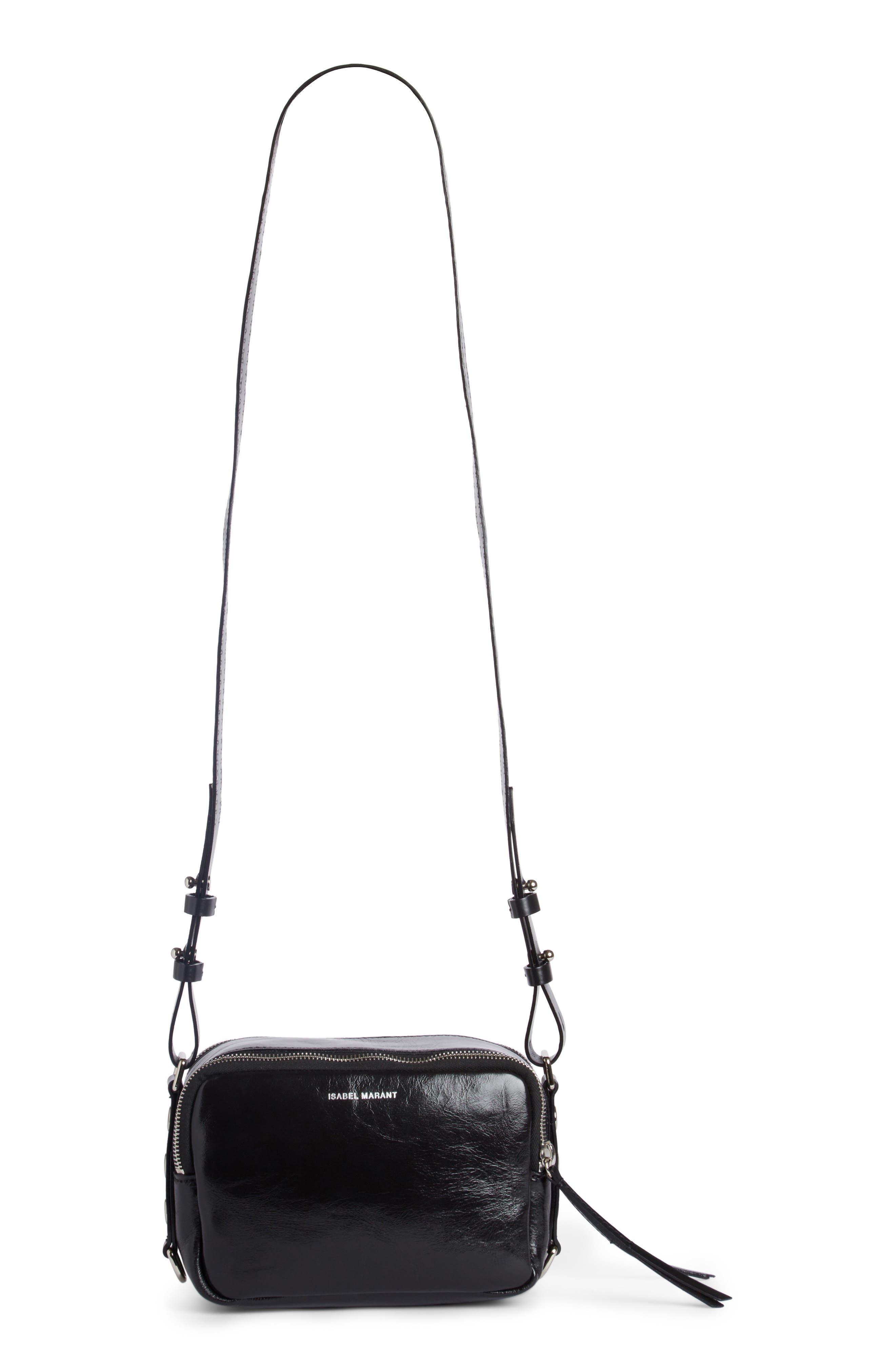 Tinley Studded Leather Crossbody Bag,                         Main,                         color, 003