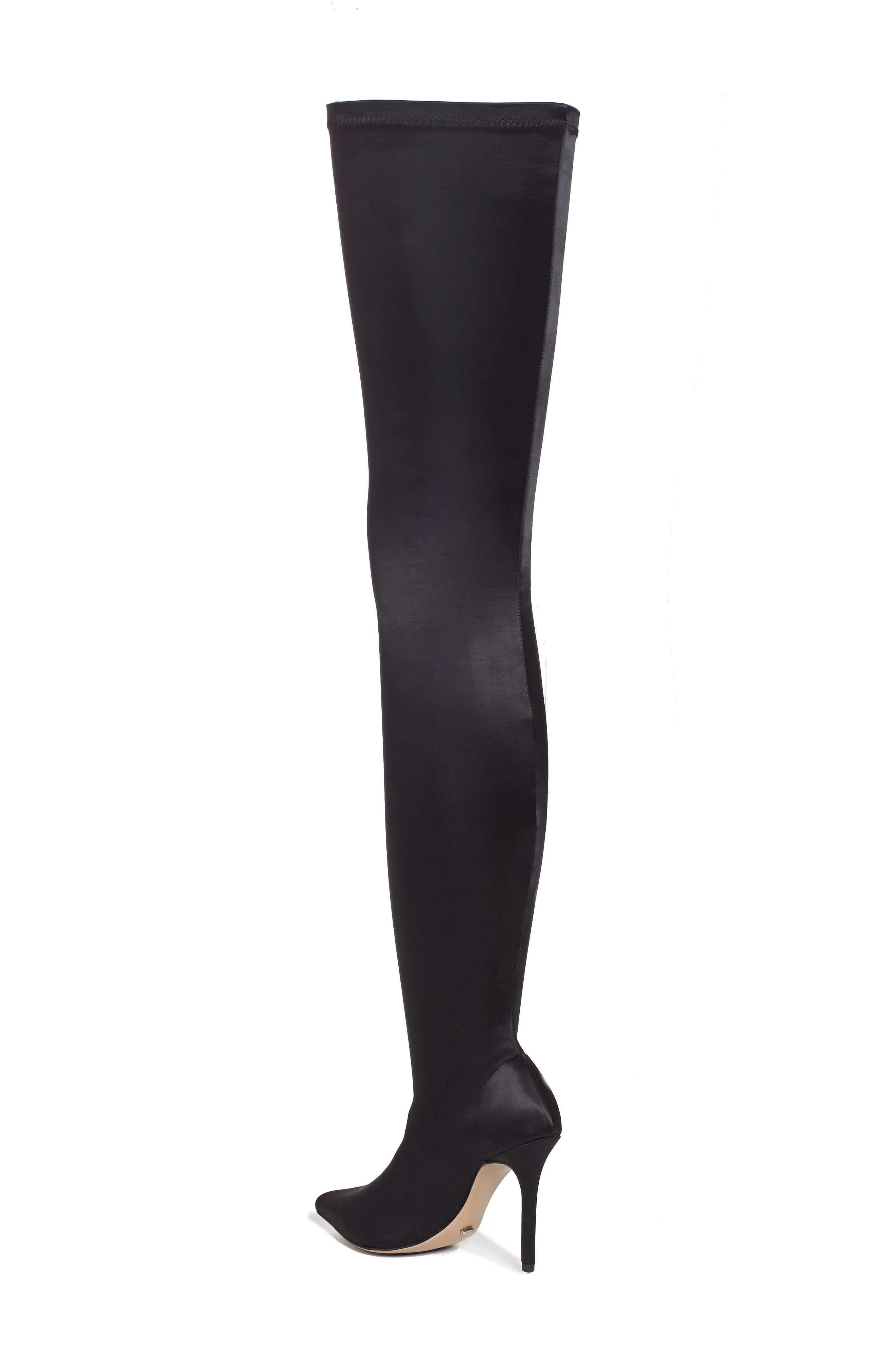 Dene Thigh High Boot,                             Alternate thumbnail 2, color,                             001