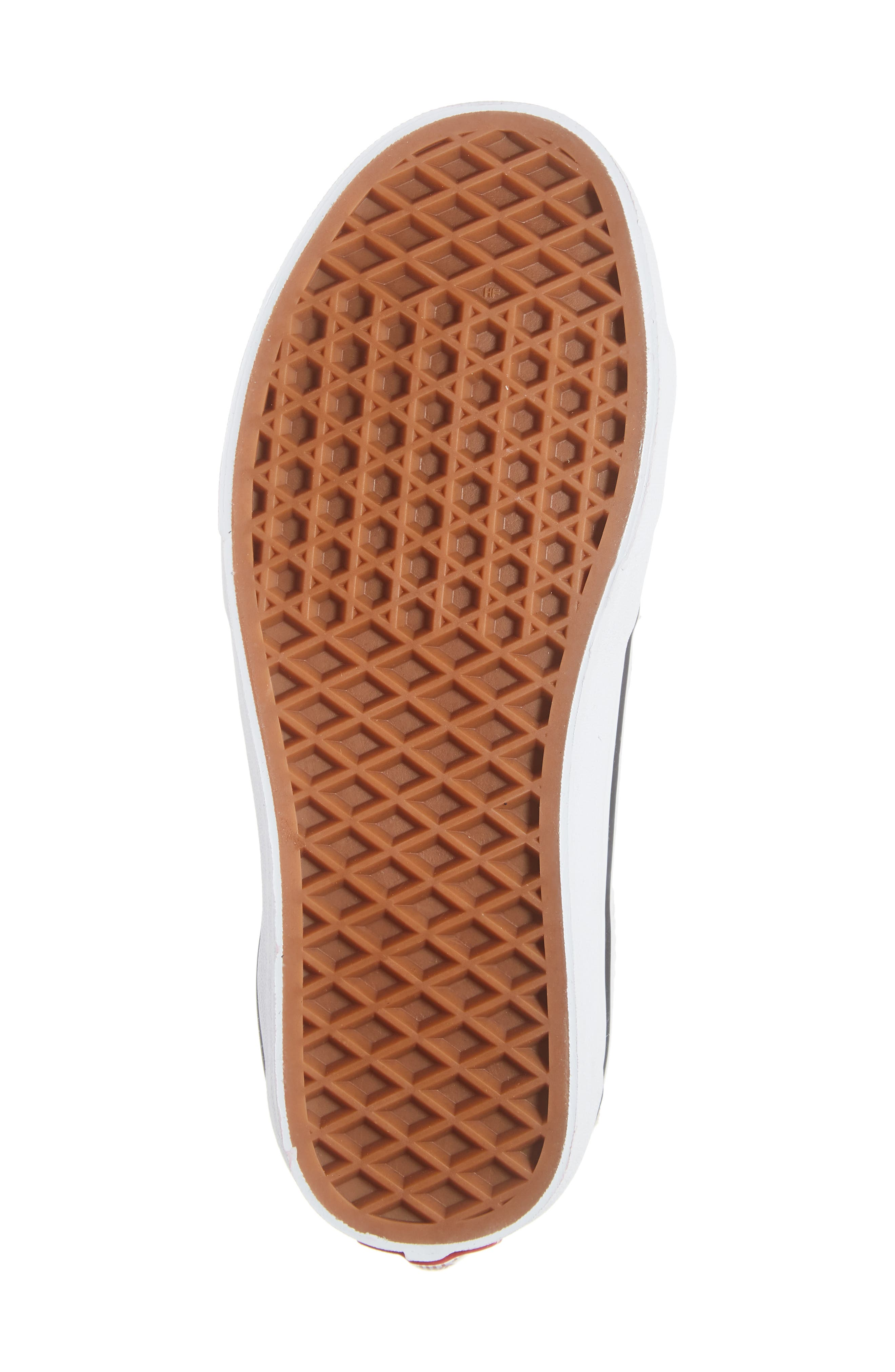VANS,                             Sk8-Hi Checker Floral High Top Sneaker,                             Alternate thumbnail 6, color,                             CHECKER FLORAL TURTLEDOVE