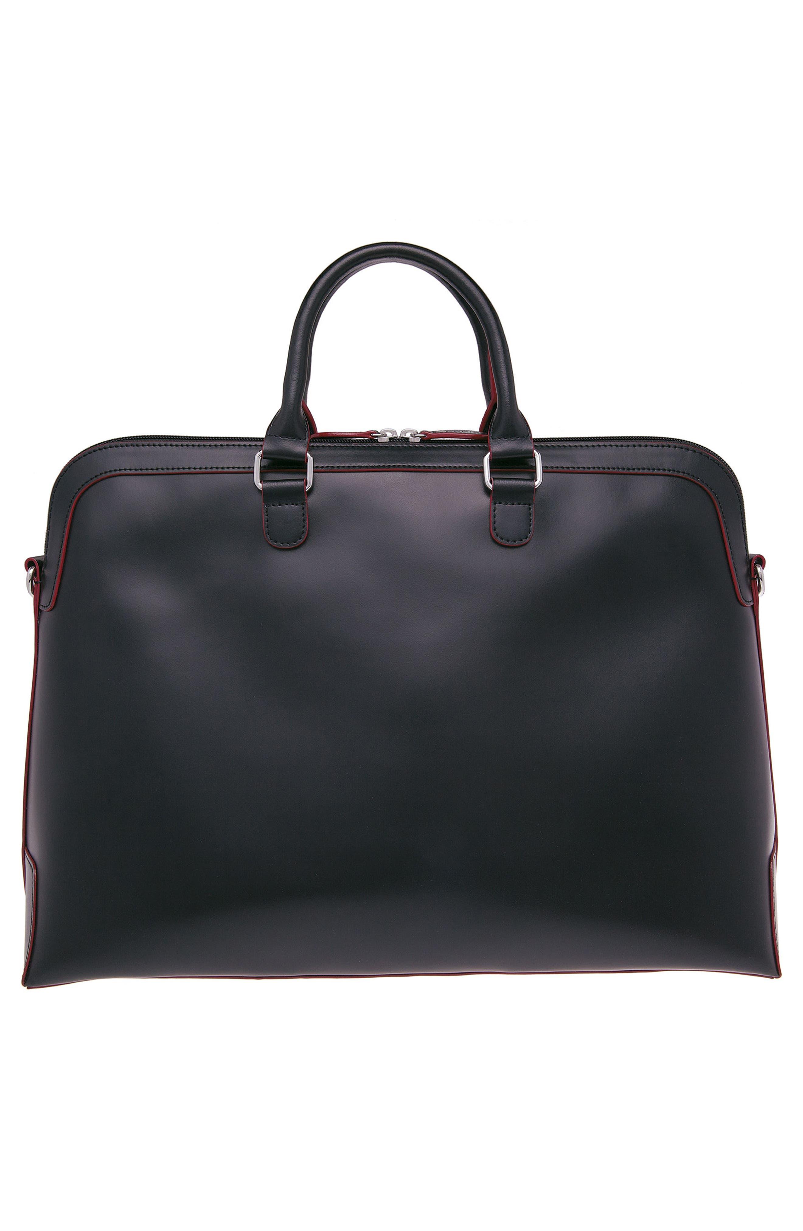 Lodis 'Audrey Brera' Leather Briefcase,                             Alternate thumbnail 2, color,                             001