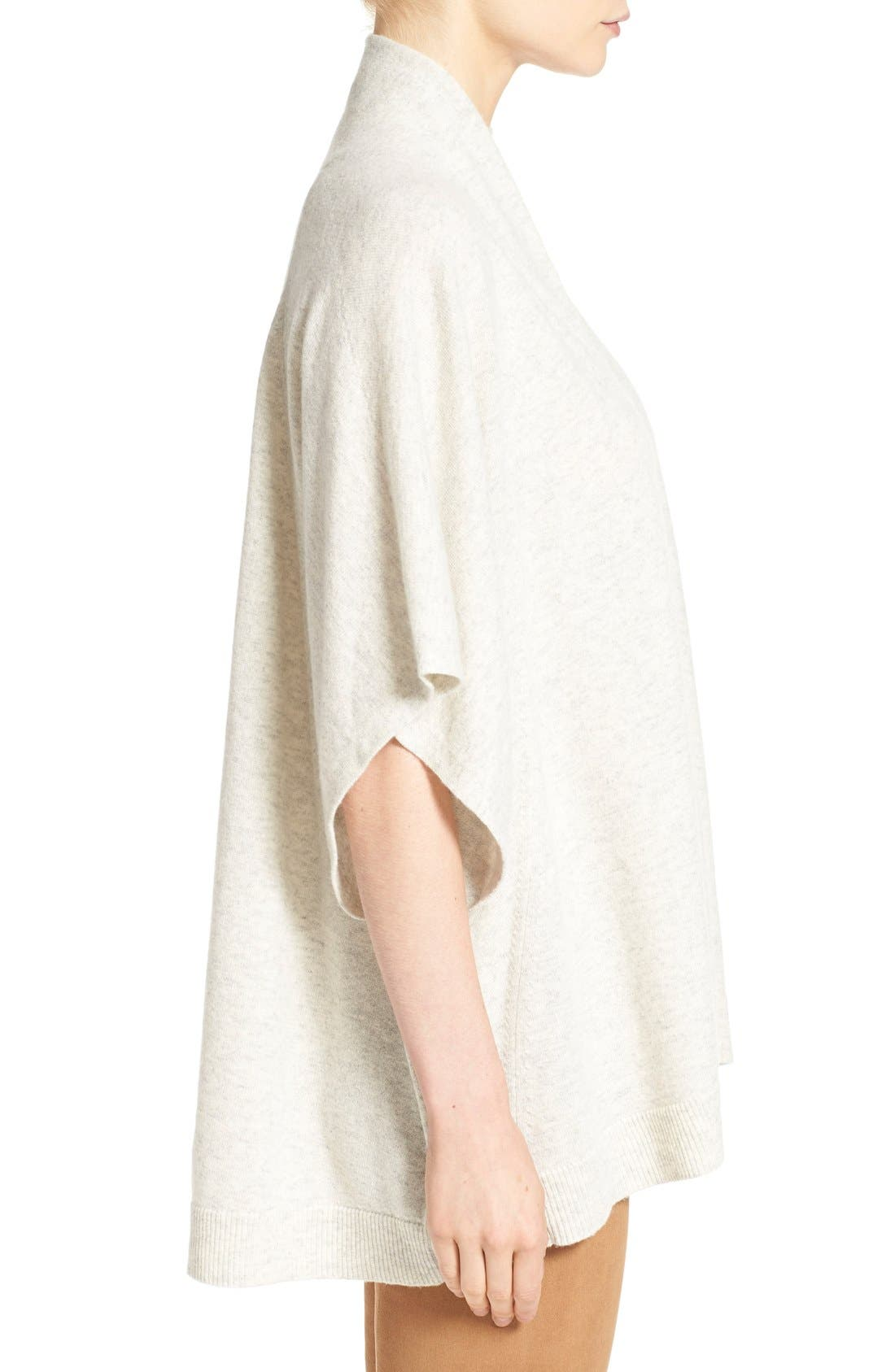 Oversize Short Sleeve Pullover,                             Alternate thumbnail 3, color,                             026