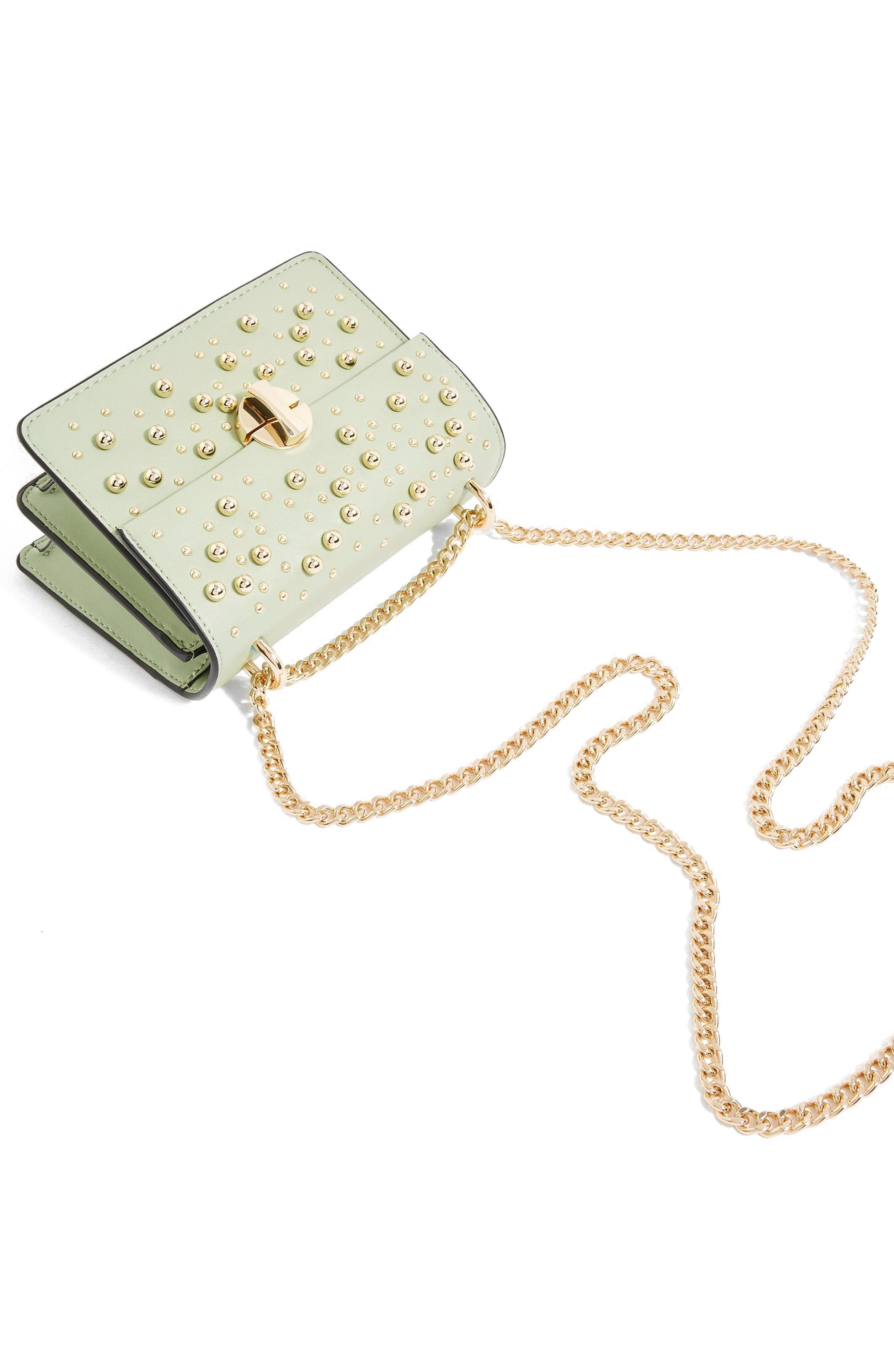 TOPSHOP,                             Betty Ball Crossbody Bag,                             Alternate thumbnail 3, color,                             300