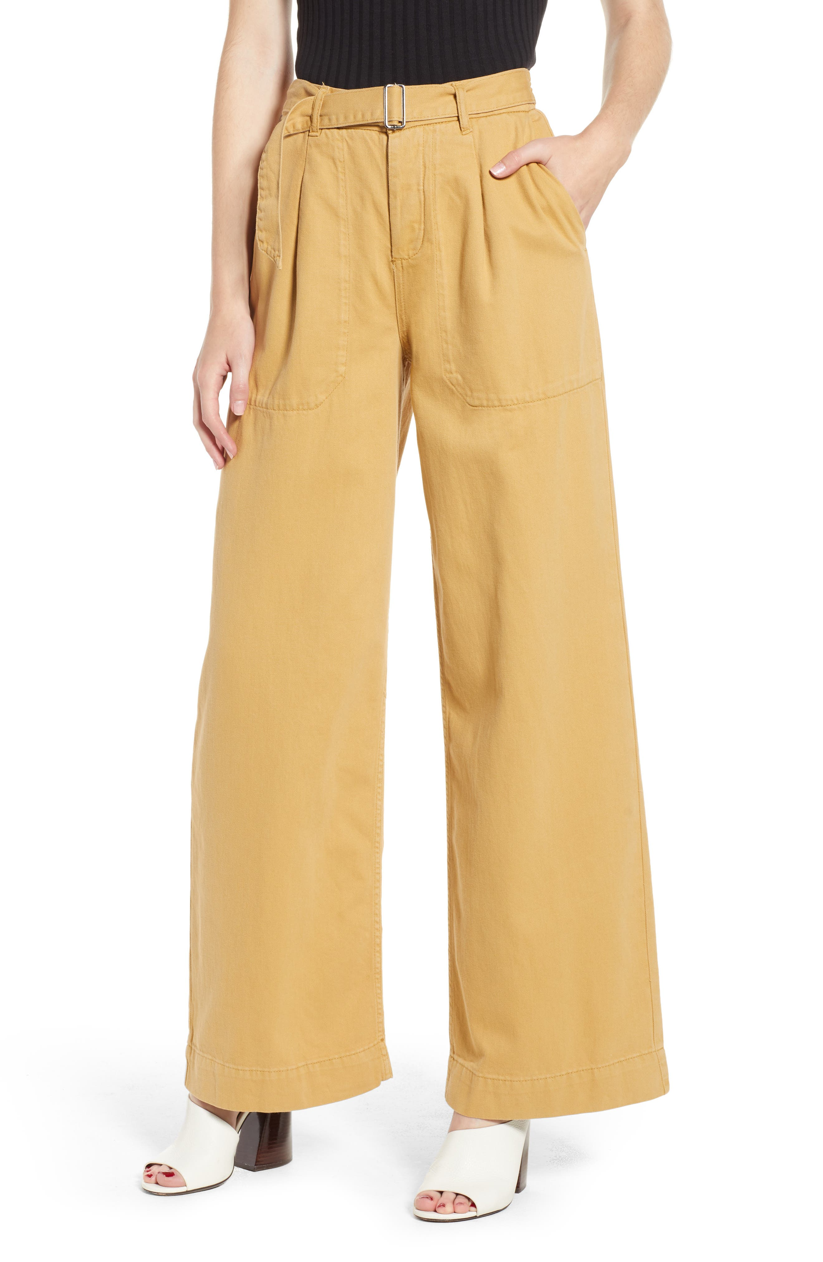 Wonder Wide Chino Trousers,                             Main thumbnail 1, color,                             250