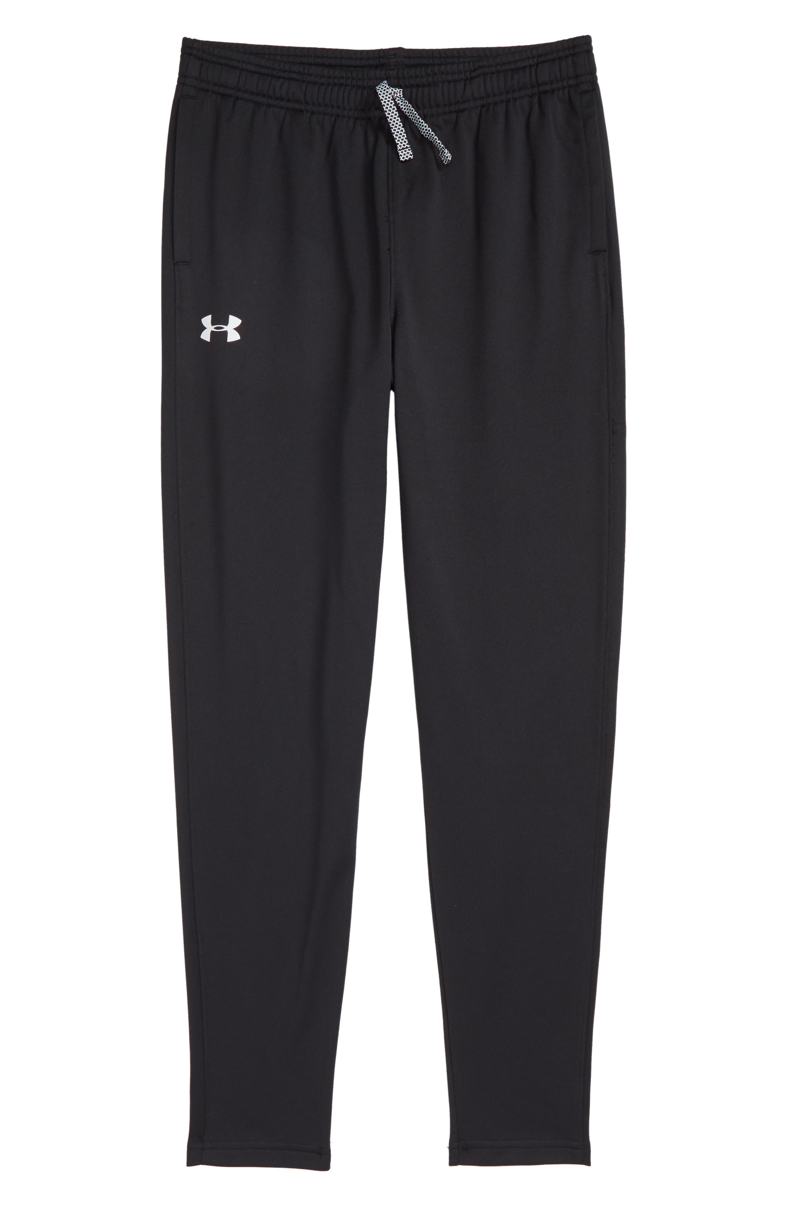 Brawler Tapered Sweatpants,                             Main thumbnail 1, color,                             BLACK/ WHITE