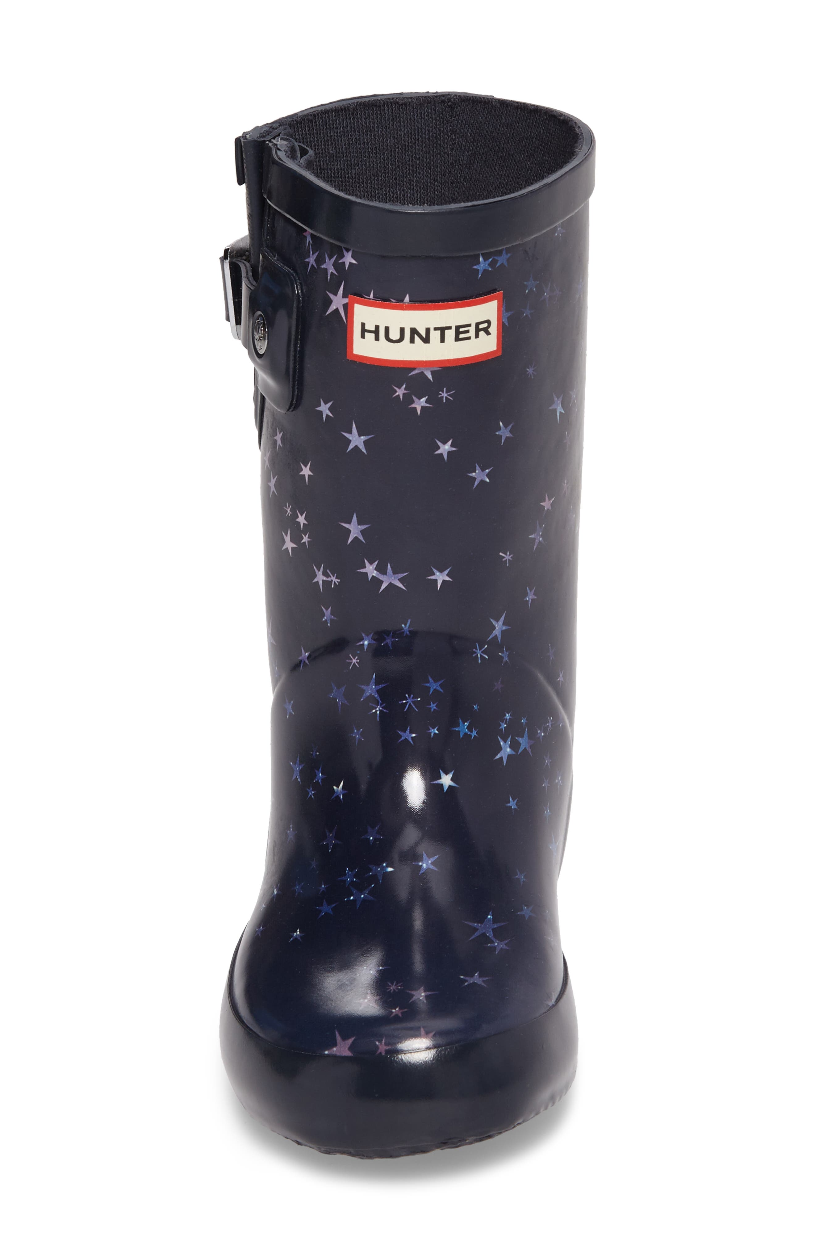Flat Sole Constellation Waterproof Rain Boot,                             Alternate thumbnail 4, color,                             483