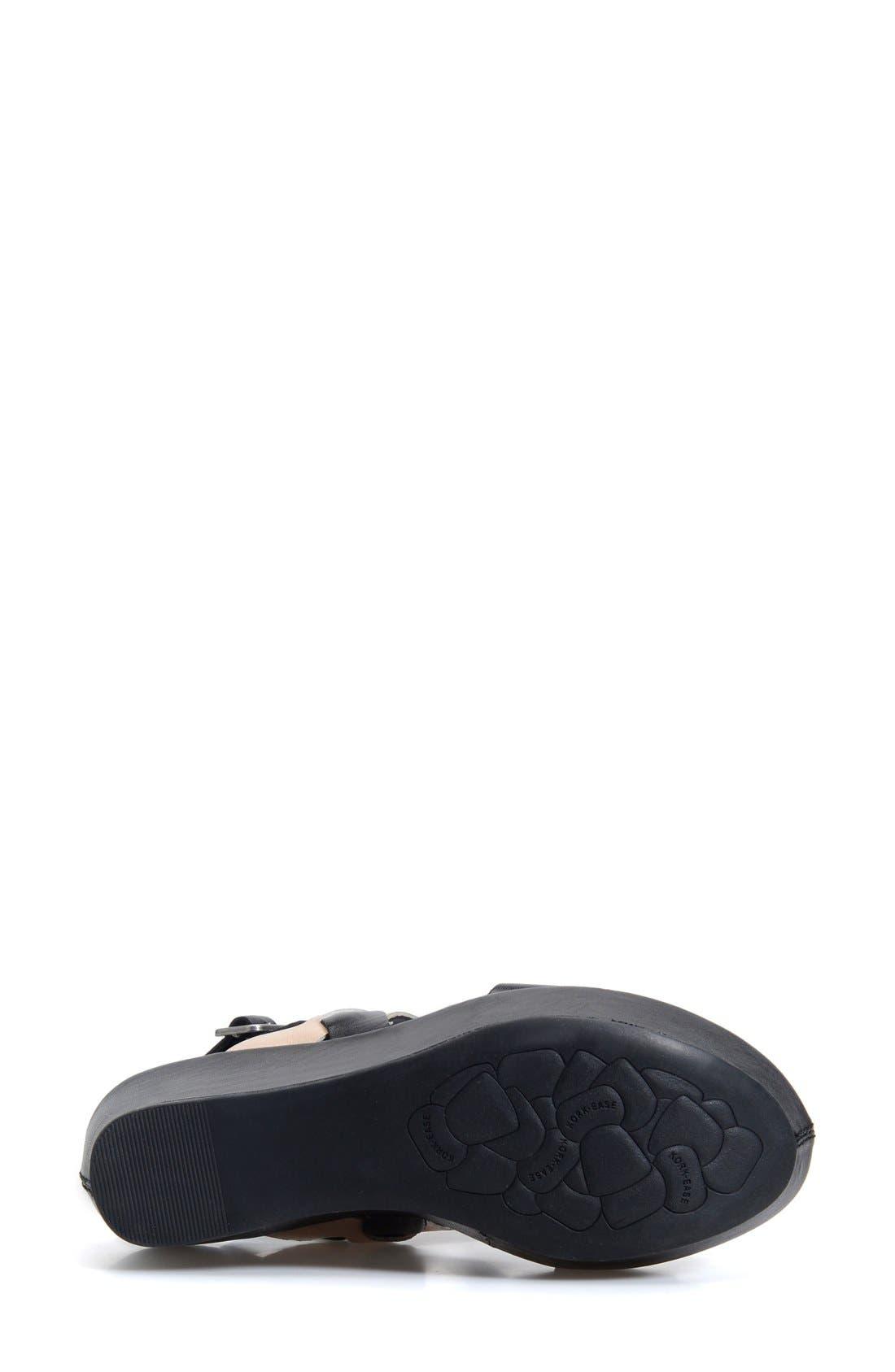 'Austin' Slingback Wedge Sandal,                             Alternate thumbnail 35, color,