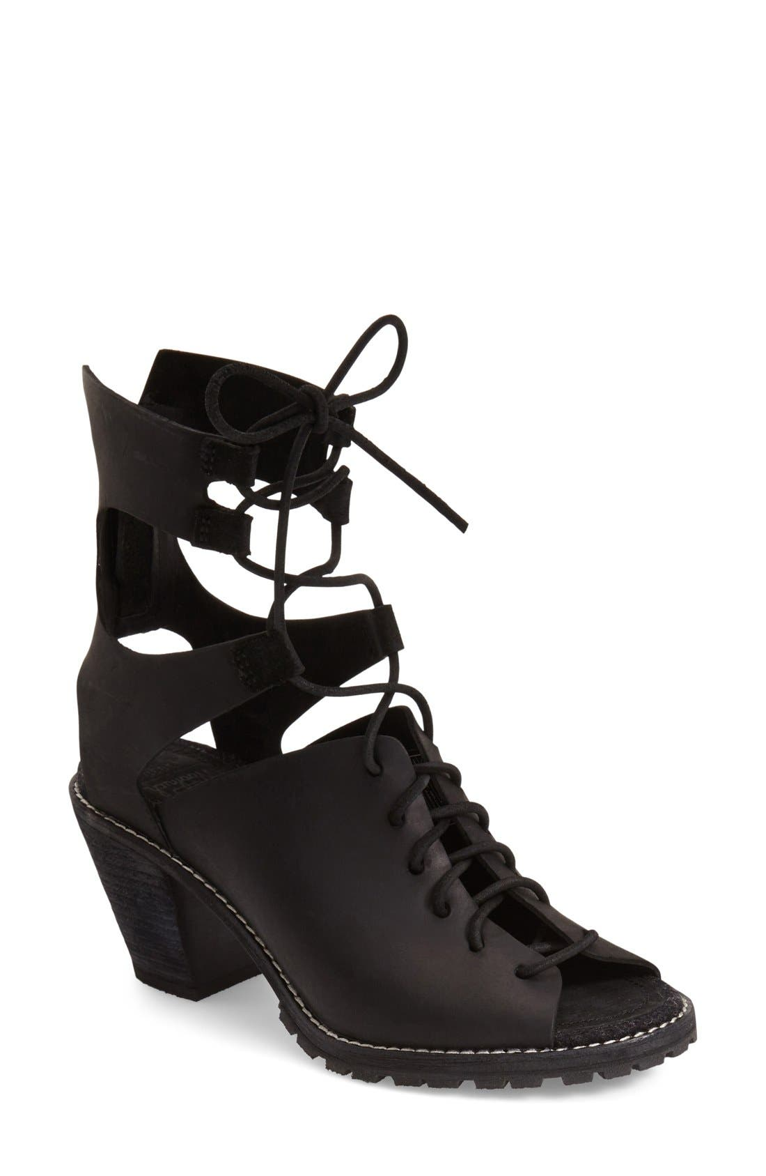 'Mohave Arroyo' Lace-Up Boot,                             Main thumbnail 1, color,
